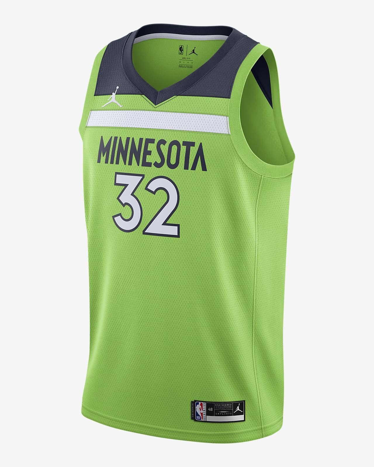 Karl-Anthony Towns Timberwolves Statement Edition 2020 Jordan NBA Swingman Jersey