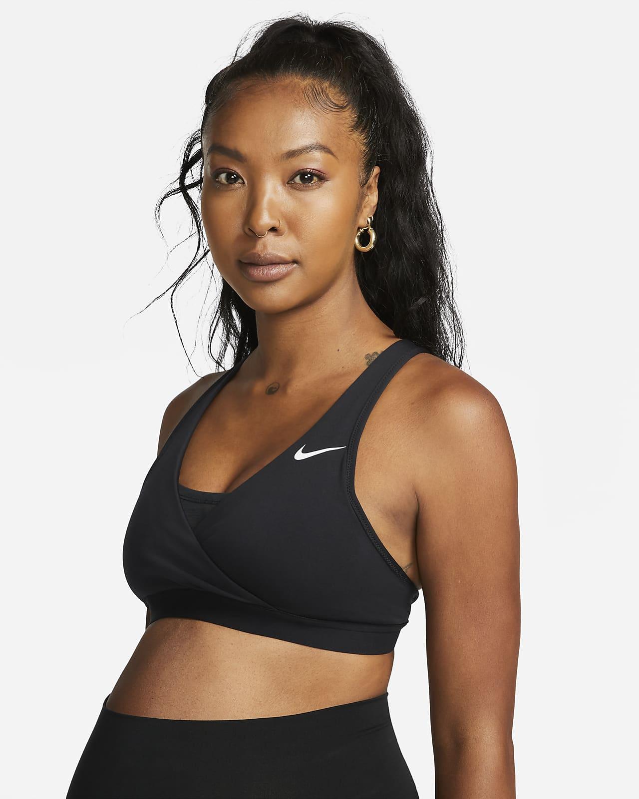 Nike (M) Swoosh-sports-bh med medium støtte til kvinder (graviditet)
