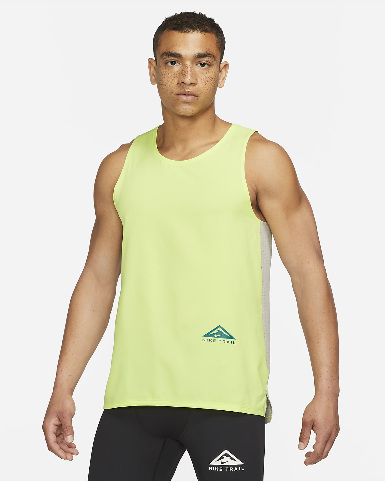 Camiseta de tirantes para hombre para carreras en sendero Nike Dri-FIT Rise 365