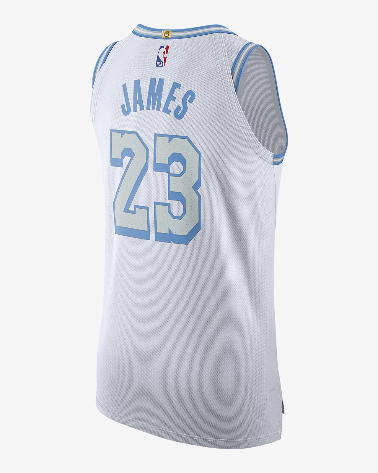 Los Angeles Lakers City Edition Nike NBA Authentic Jersey