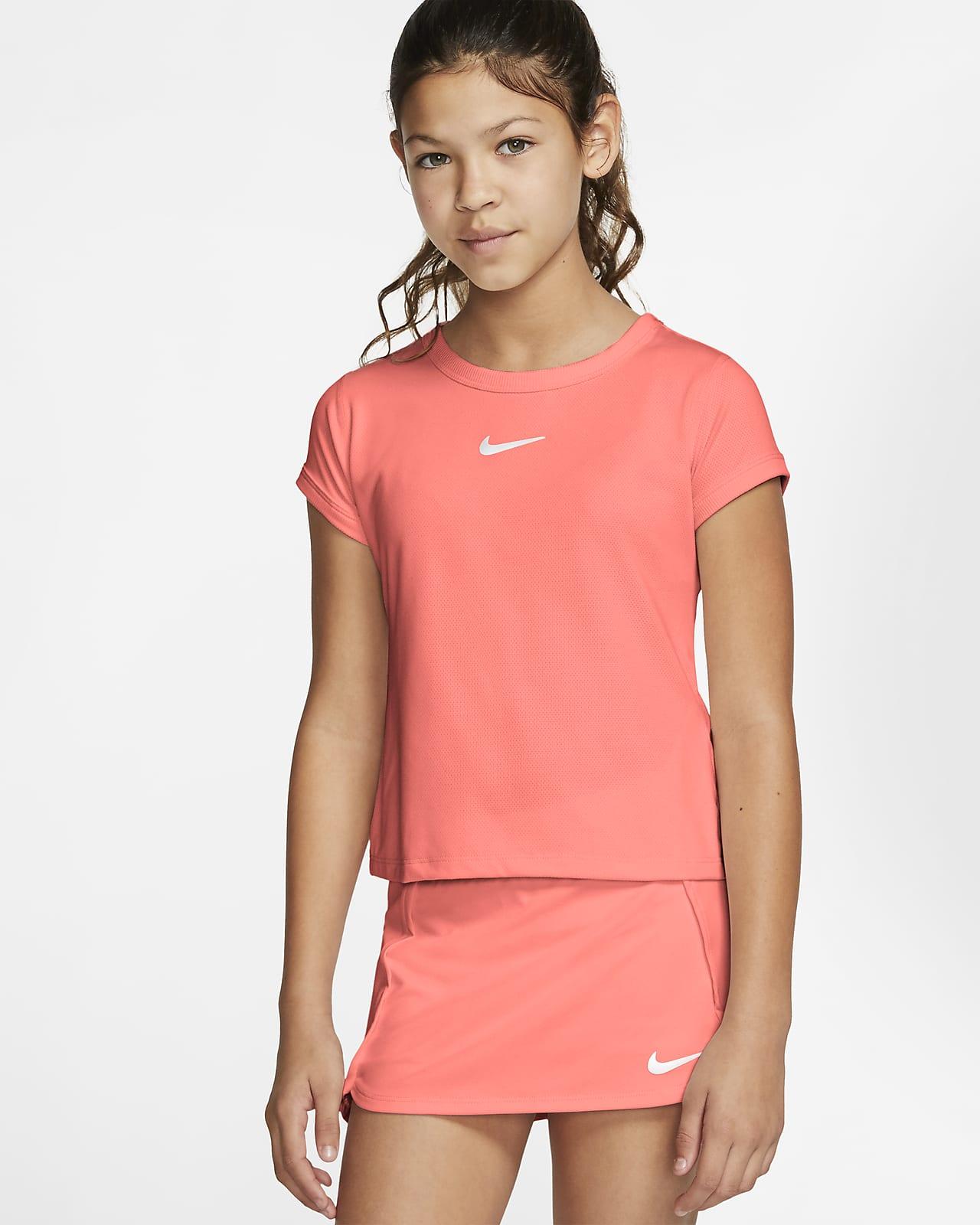 Top da tennis NikeCourt Dri-FIT - Ragazza