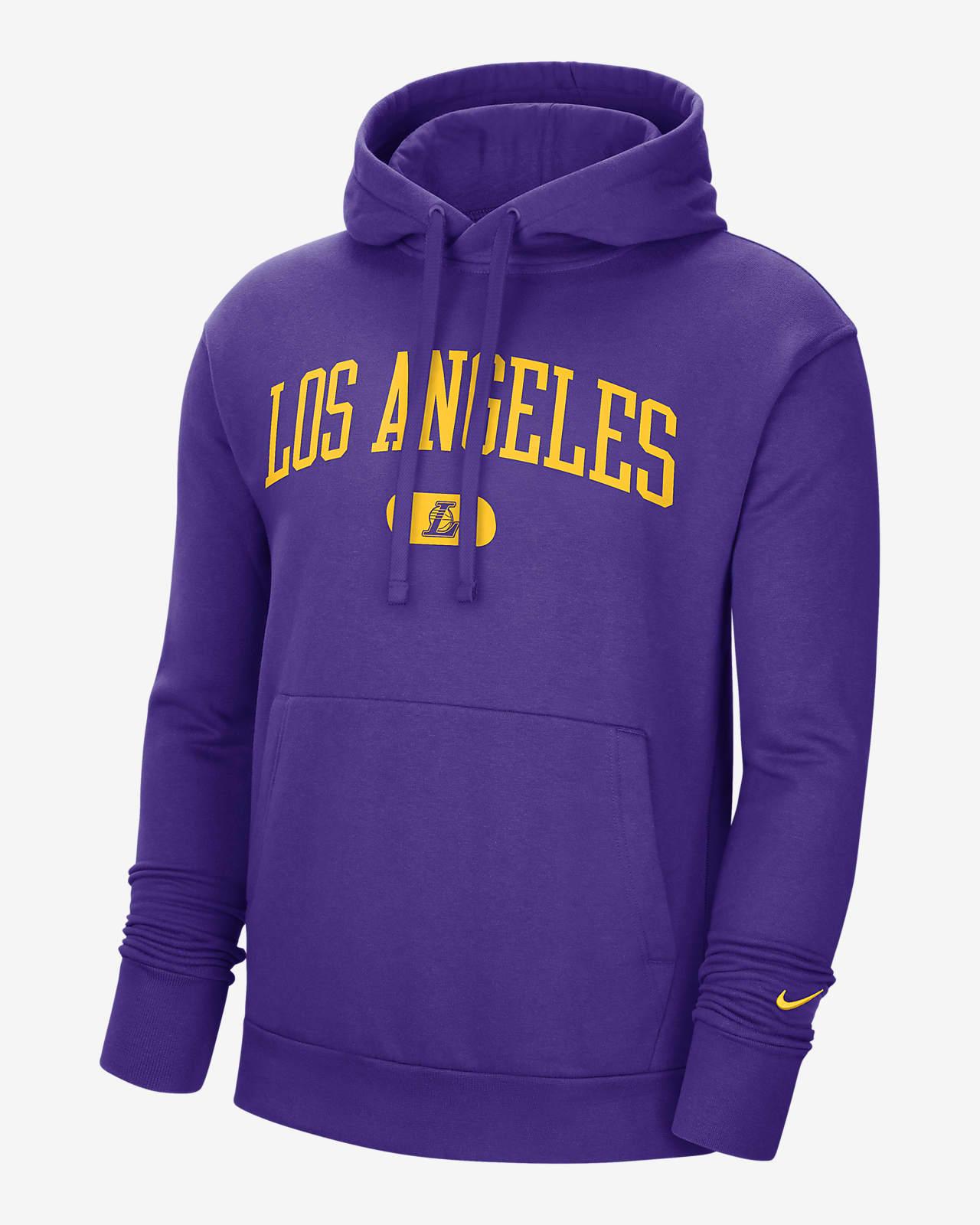 Los Angeles Lakers Heritage Men's Nike NBA Pullover Hoodie