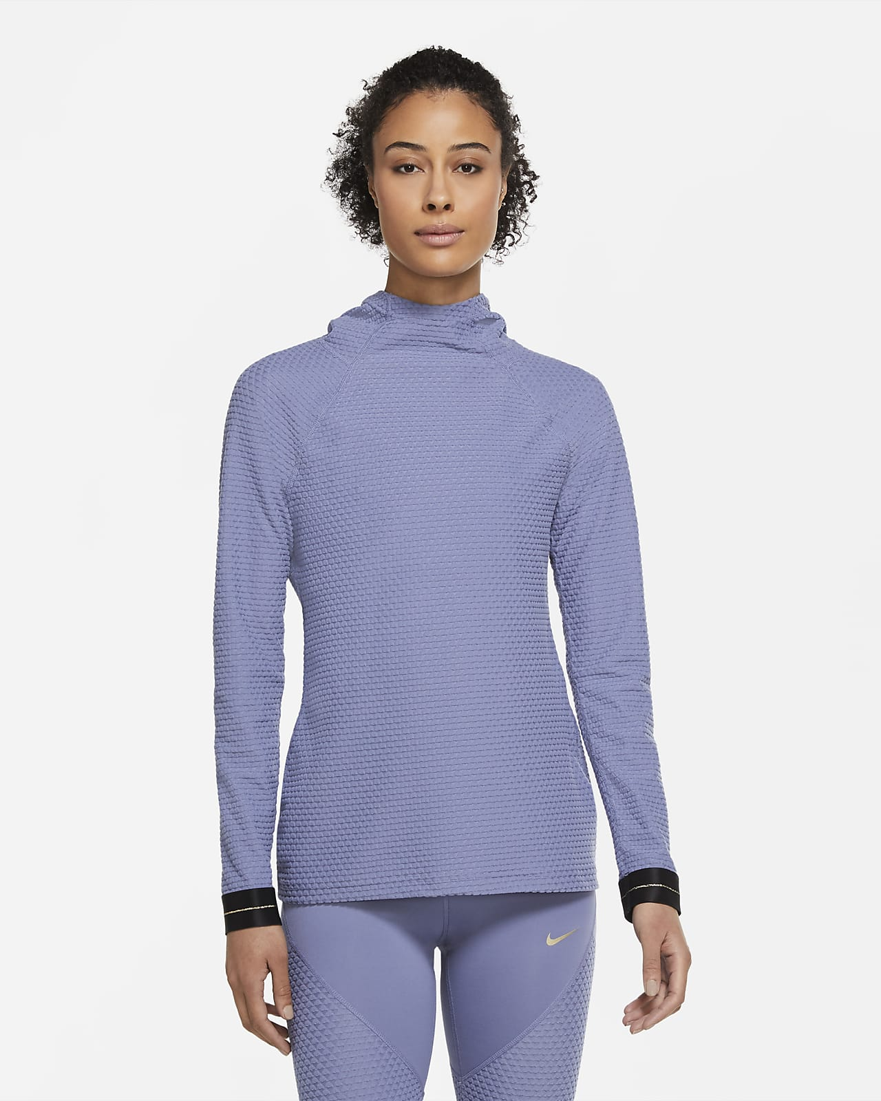 Nike Pro Icon Clash Women's Hooded Long-Sleeve Top