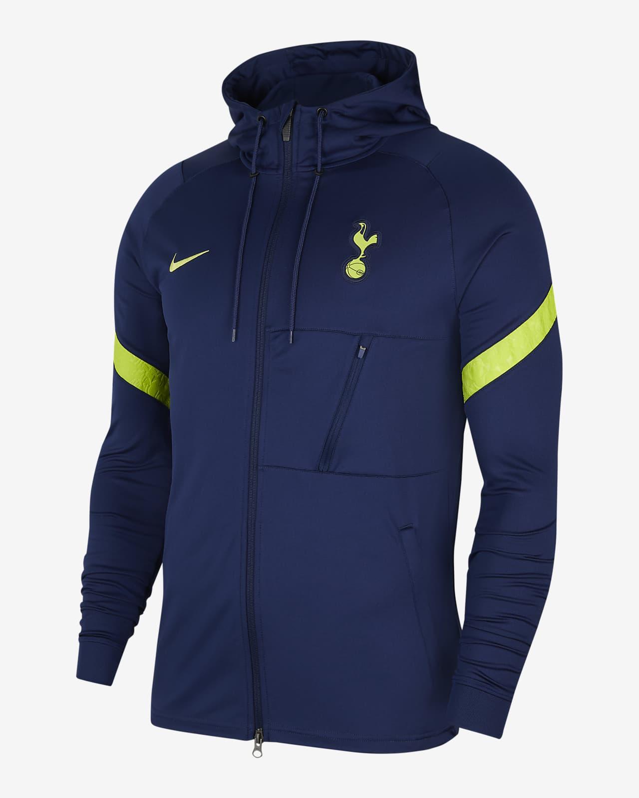 Tottenham Hotspur Strike Men's Nike Dri-FIT Knit Football Tracksuit Jacket