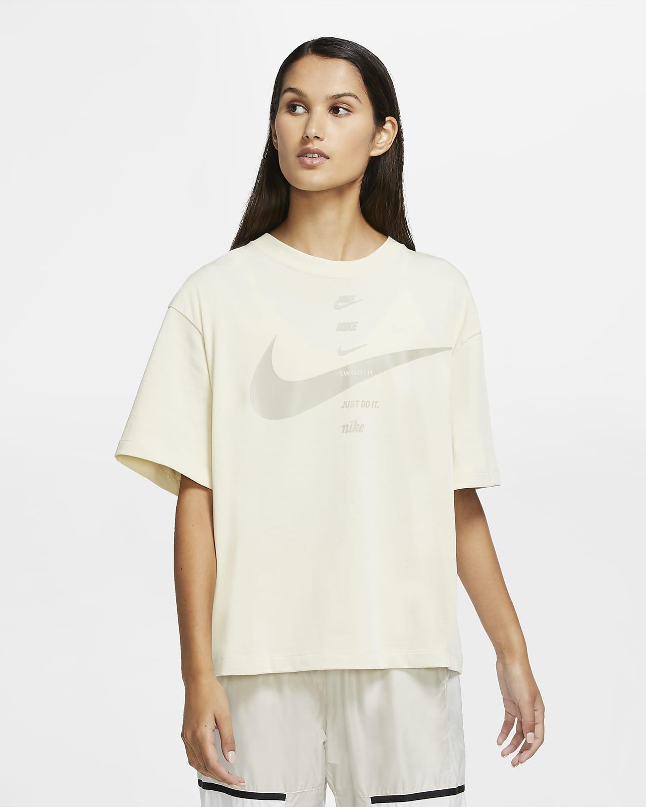Kortærmet Nike Sportswear-overdel til kvinder