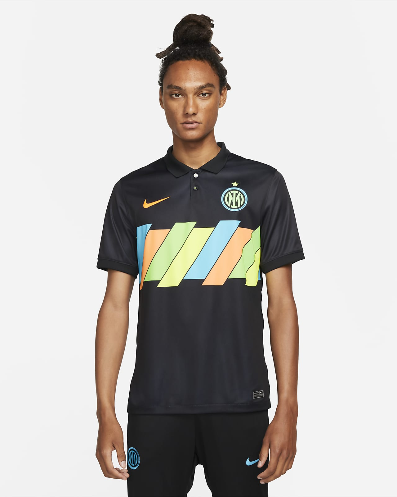 Męska koszulka piłkarska Nike Dri-FIT Inter Mediolan Stadium 2021/22 (wersja trzecia)
