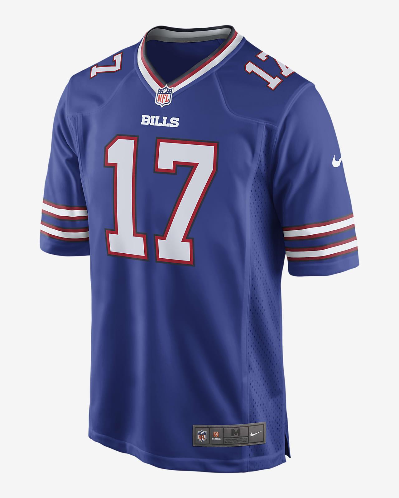 NFL Buffalo Bills (Josh Allen) Men's Game American Football Jersey