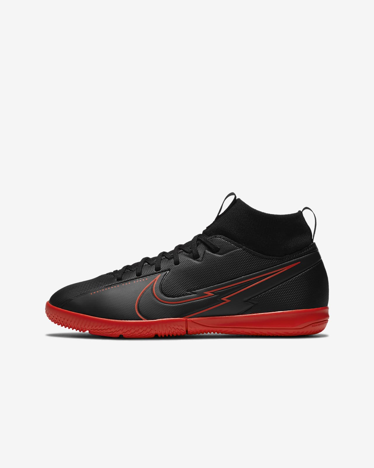 DoneXcaseo CR Indoor Soccer Shoes for Boys Soccer Shoes High Tops Turf Outd.