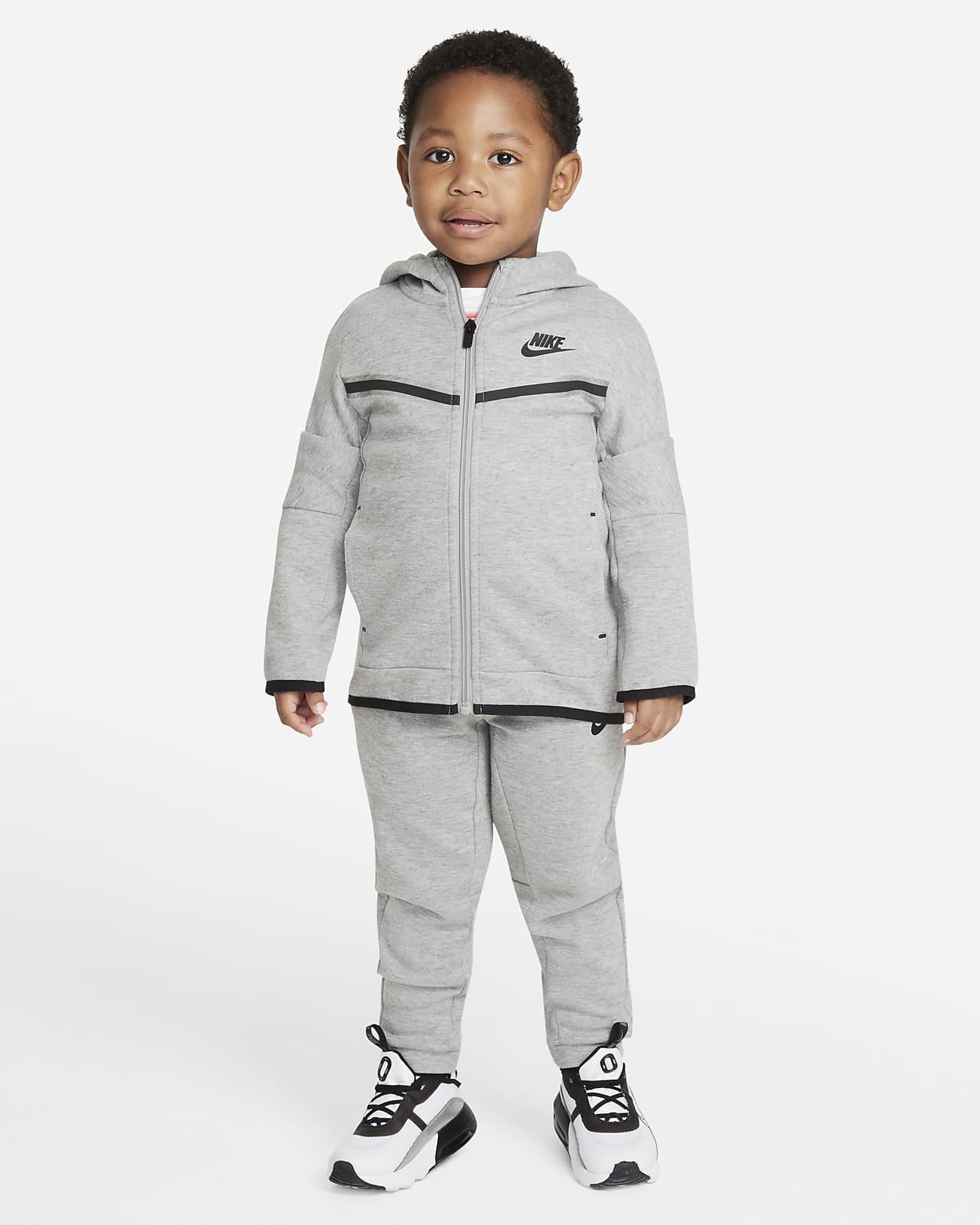 Nike Sportswear Tech Fleece Toddler Hoodie and Trousers Set