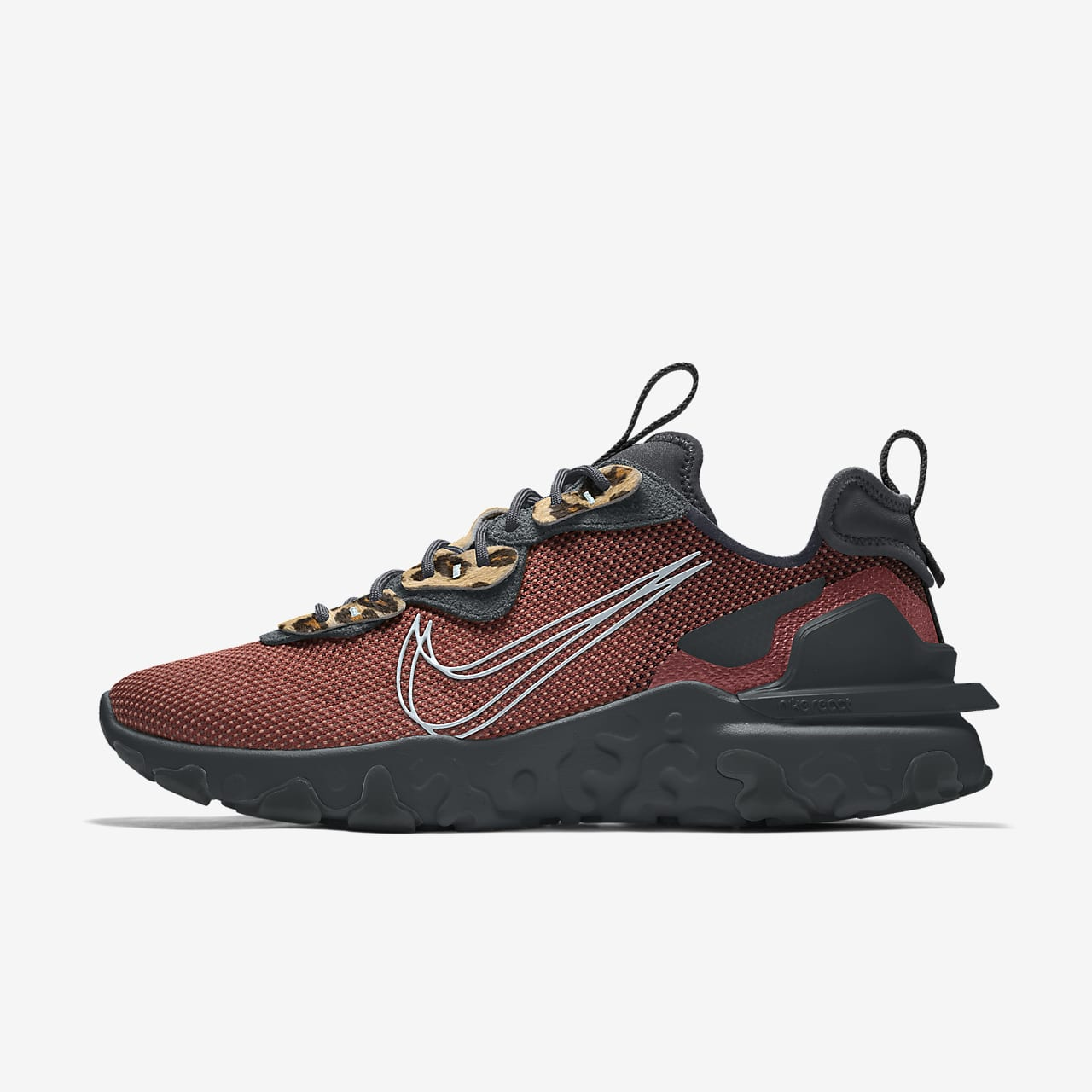 Chaussure lifestyle personnalisable Nike React Vision By You pour Homme