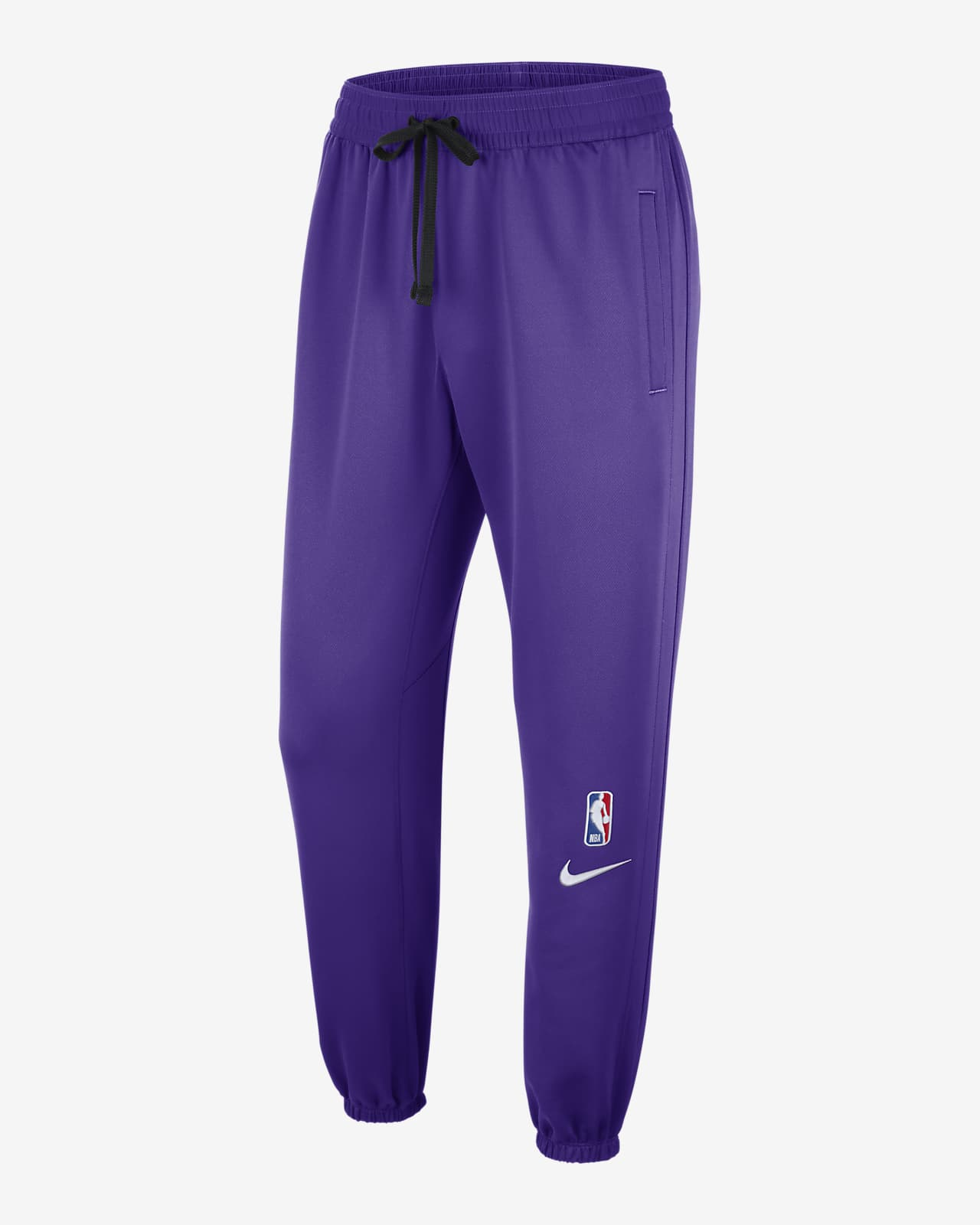 Los Angeles Lakers Showtime Men's Nike Therma Flex NBA Trousers