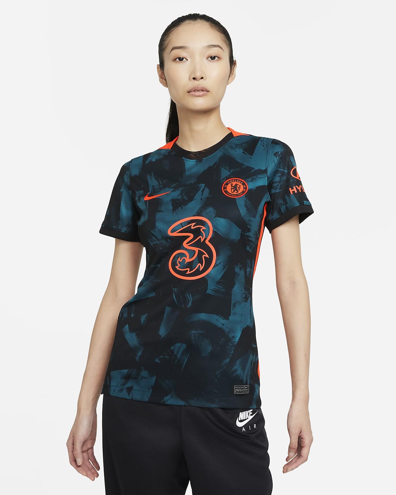 Chelsea FC 2021/22 Stadium (tredjedrakt) Nike Dri-FIT fotballdrakt til dame