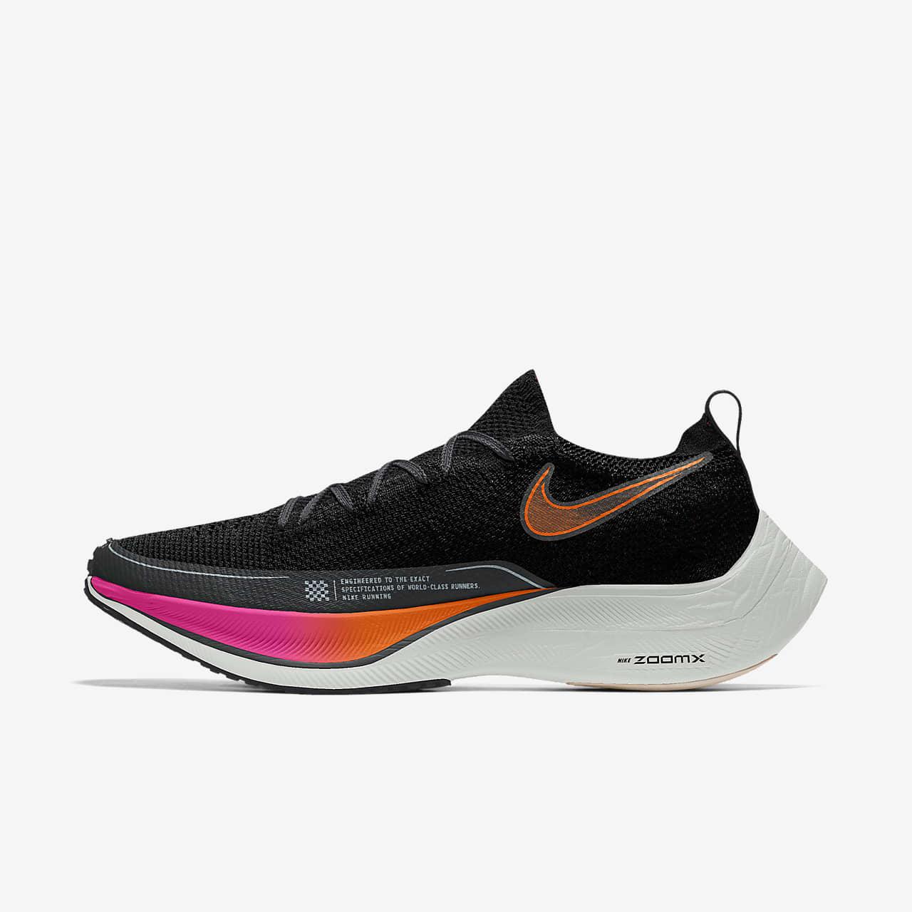 Nike ZoomX Vaporfly NEXT% 2 By You konkurransesko for vei til herre