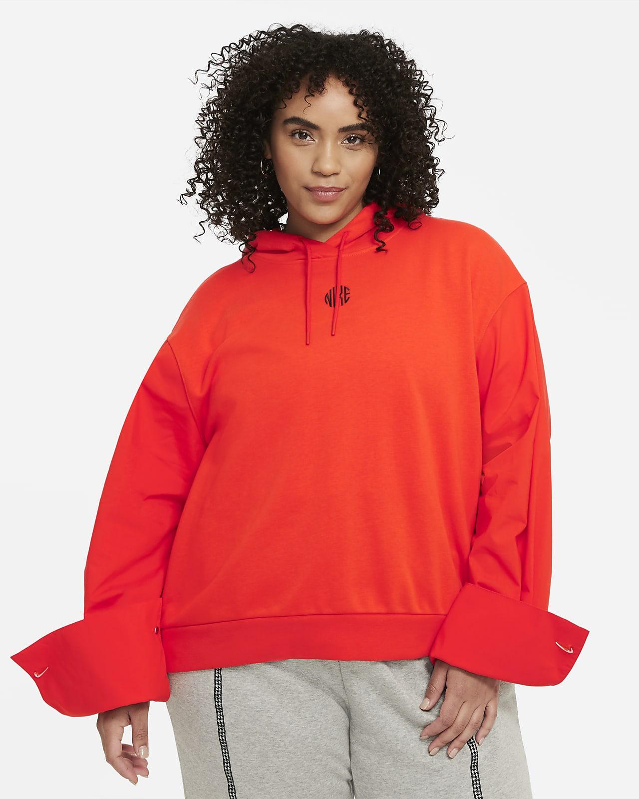 Dámská mikina skapucí Nike Sportswear Icon Clash (větší velikost)