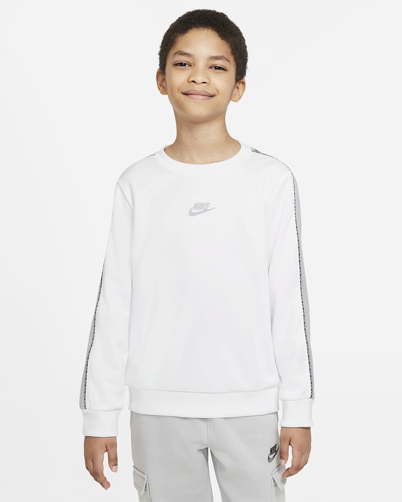 Sudadera de cuello redondo para niño talla grande Nike Sportswear