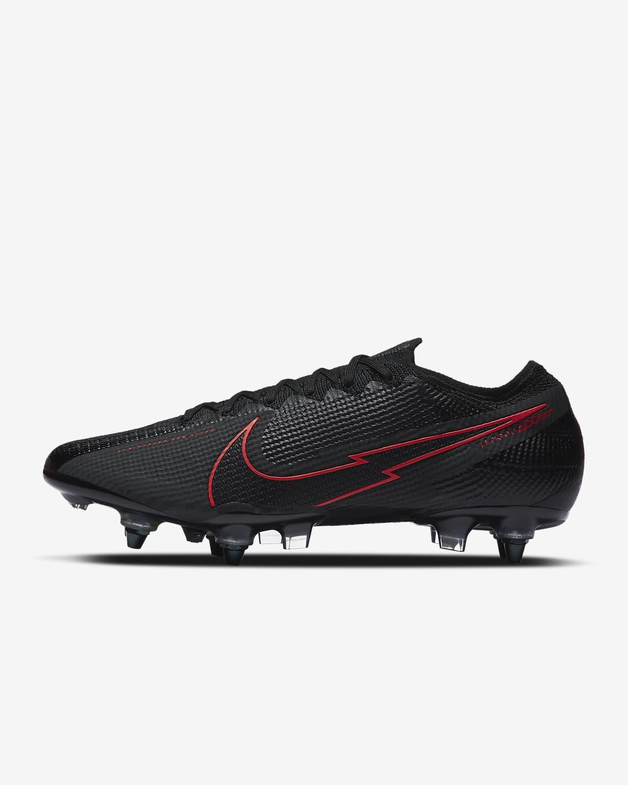Nike Mercurial Vapor 13 Elite SG-PRO Anti-Clog Traction Fußballschuh für weichen Rasen