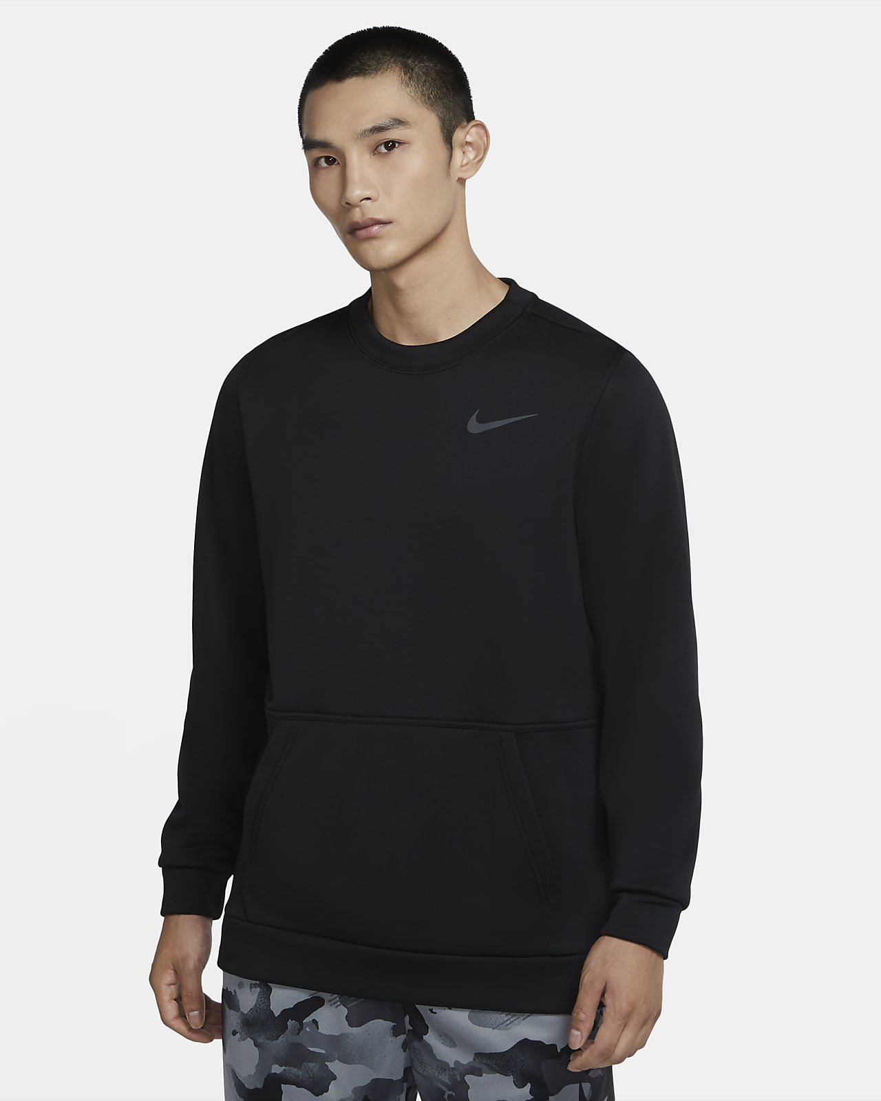 Nike Therma 男款訓練貼身圓領上衣