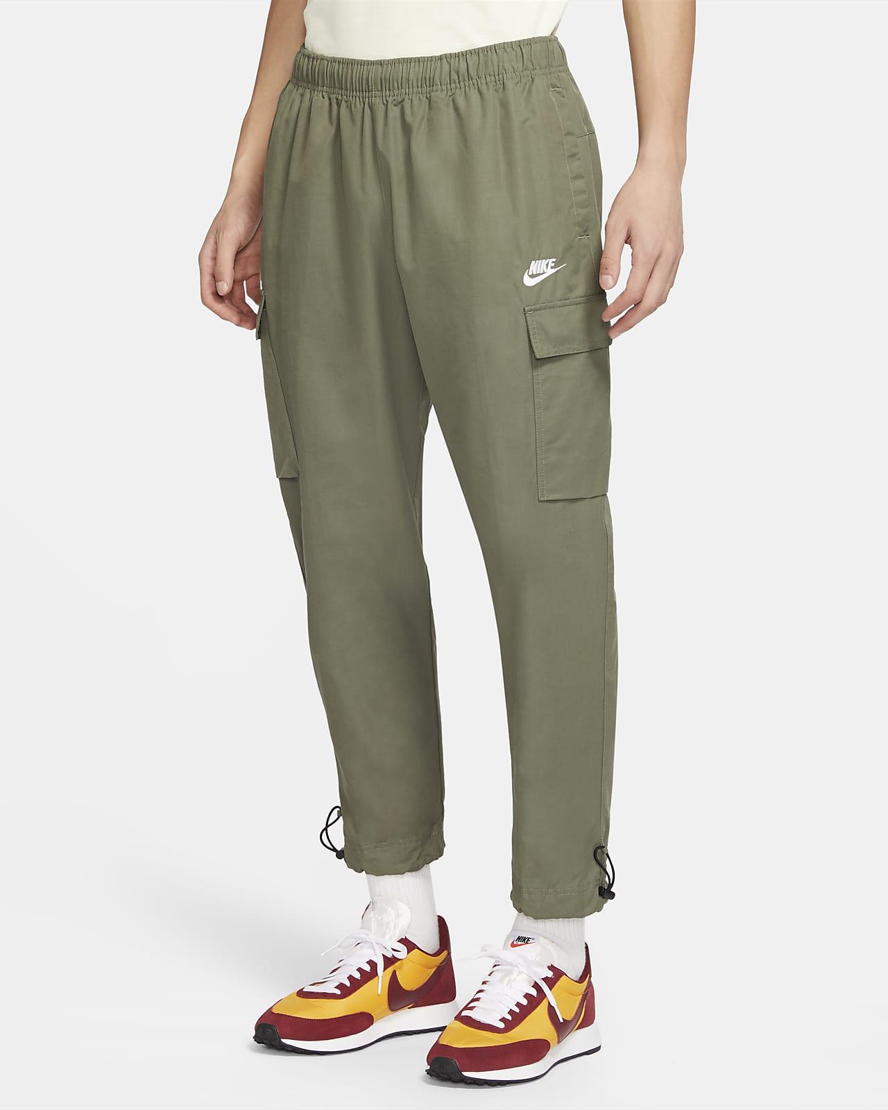 กางเกงผู้ชายแบบทอ Nike Sportswear