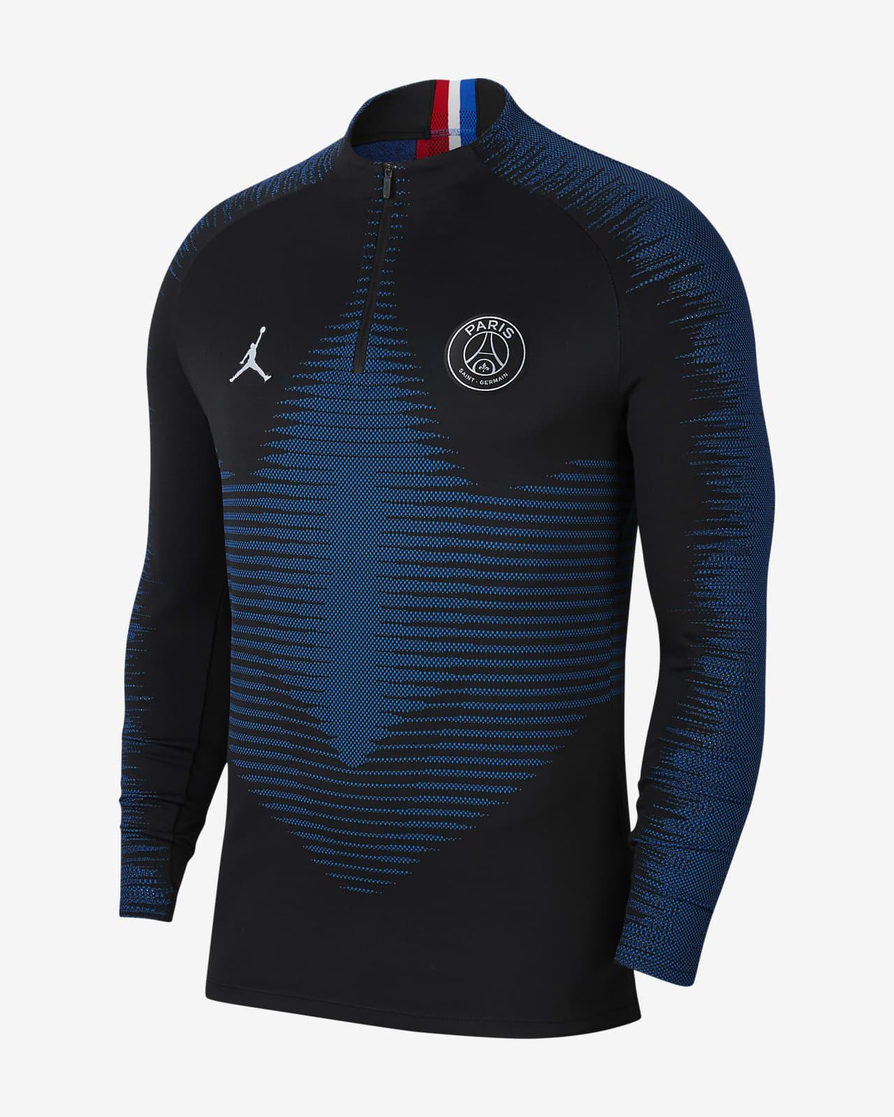 Pánský fotbalový tréninkový top Nike VaporKnit Paris Saint-Germain Strike