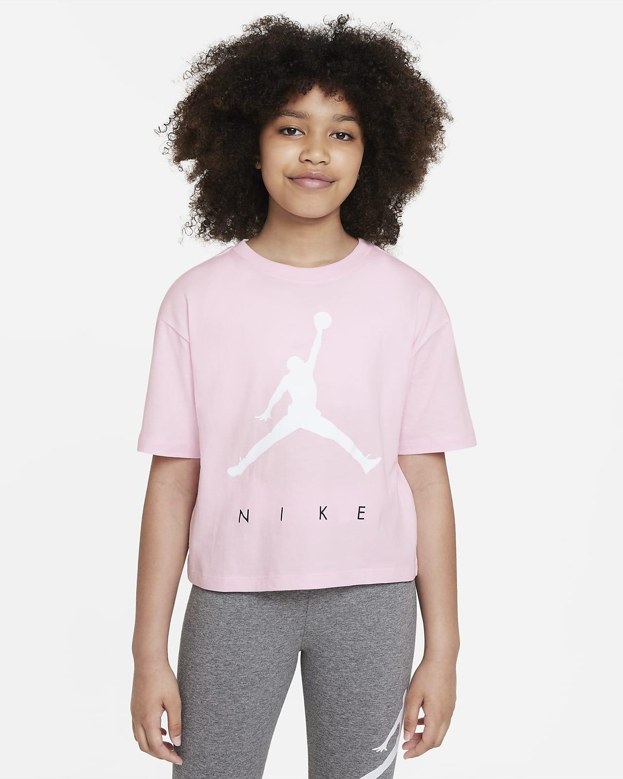 Playera para niña talla grande Jordan