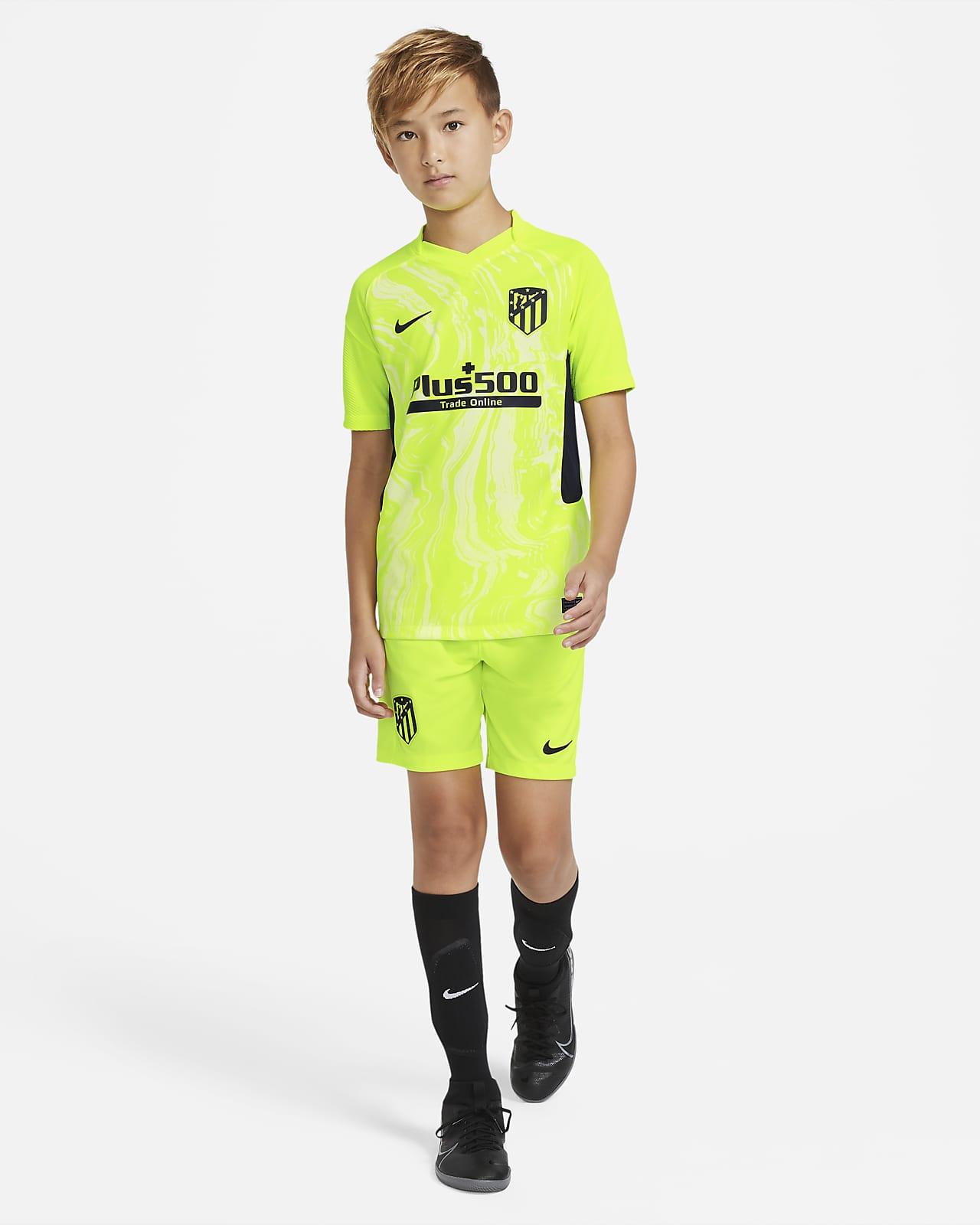 Maglia da calcio Atlético de Madrid 2020/2021 Stadium per ragazzi - Terza
