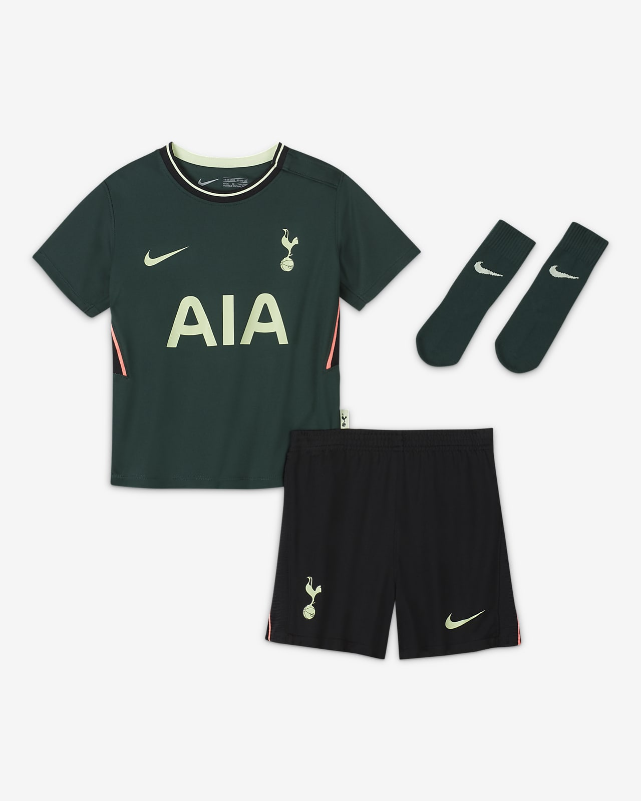 Divisa da calcio Tottenham Hotspur 2020/21 per neonati/bimbi piccoli - Away