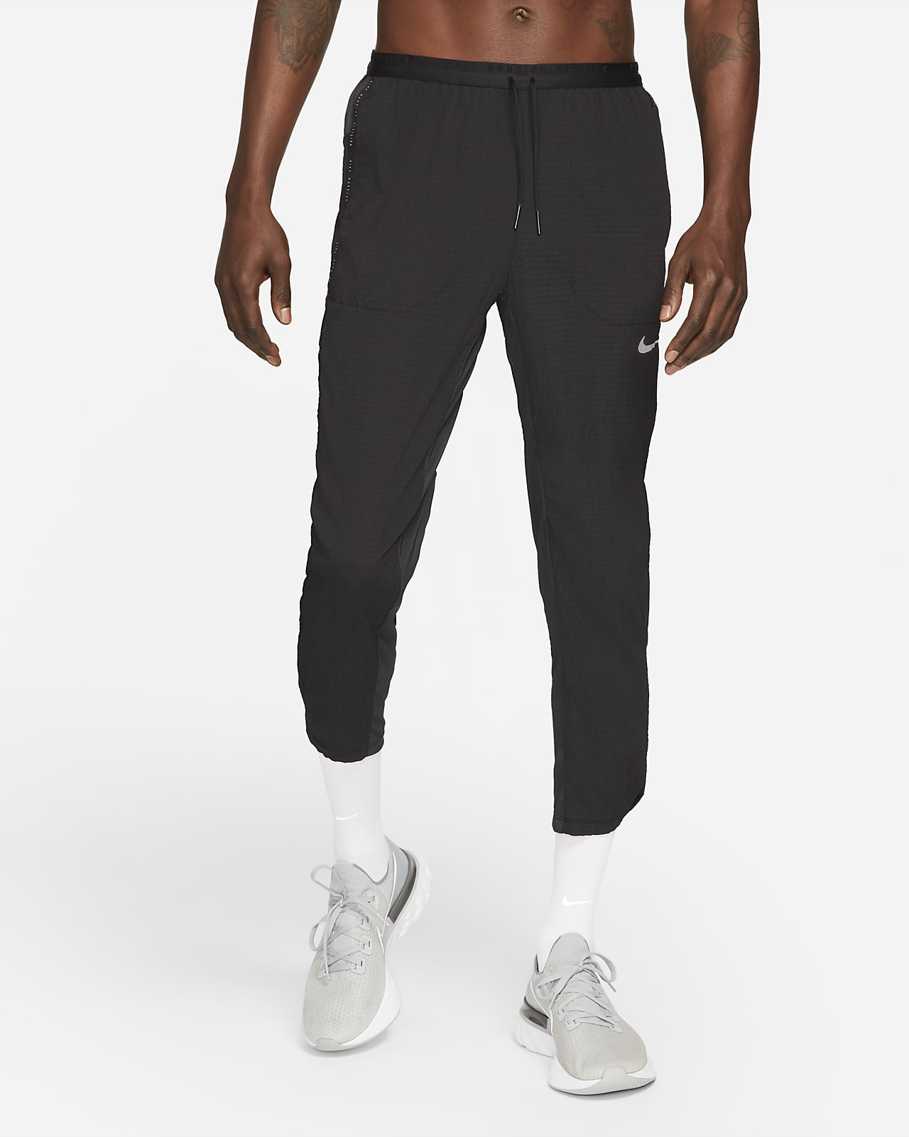 กางเกงวิ่งขายาวผู้ชาย Nike Phenom Elite Run Division