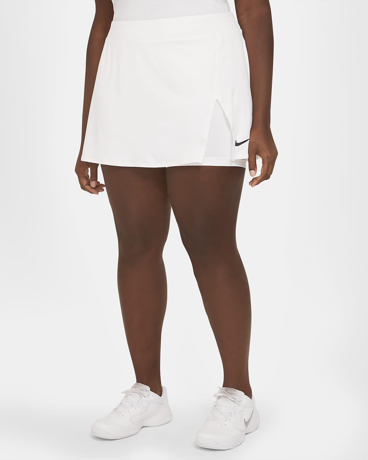 Falda de tenis para mujer talla grande NikeCourt Victory