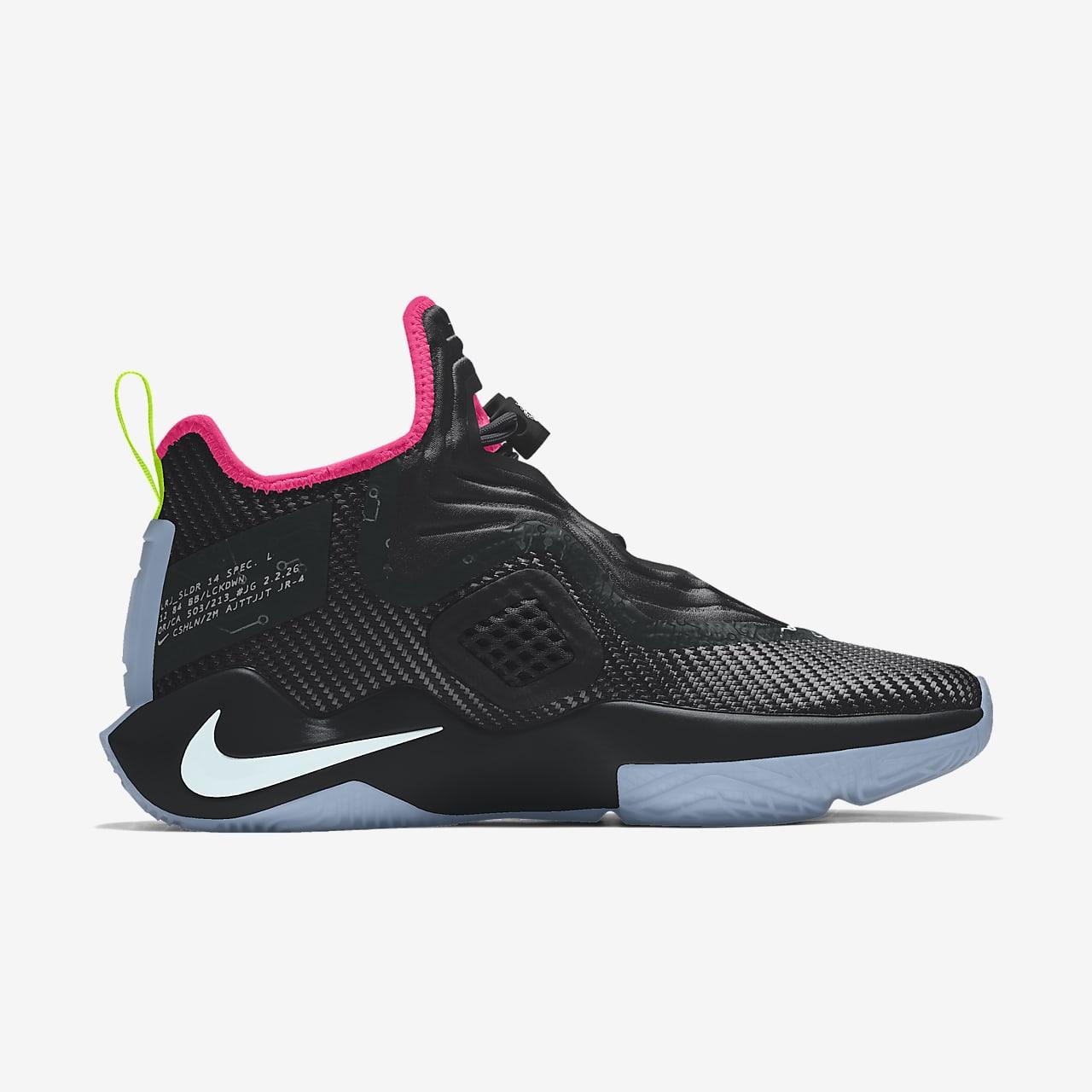 Custom Basketball Shoe. Nike JP