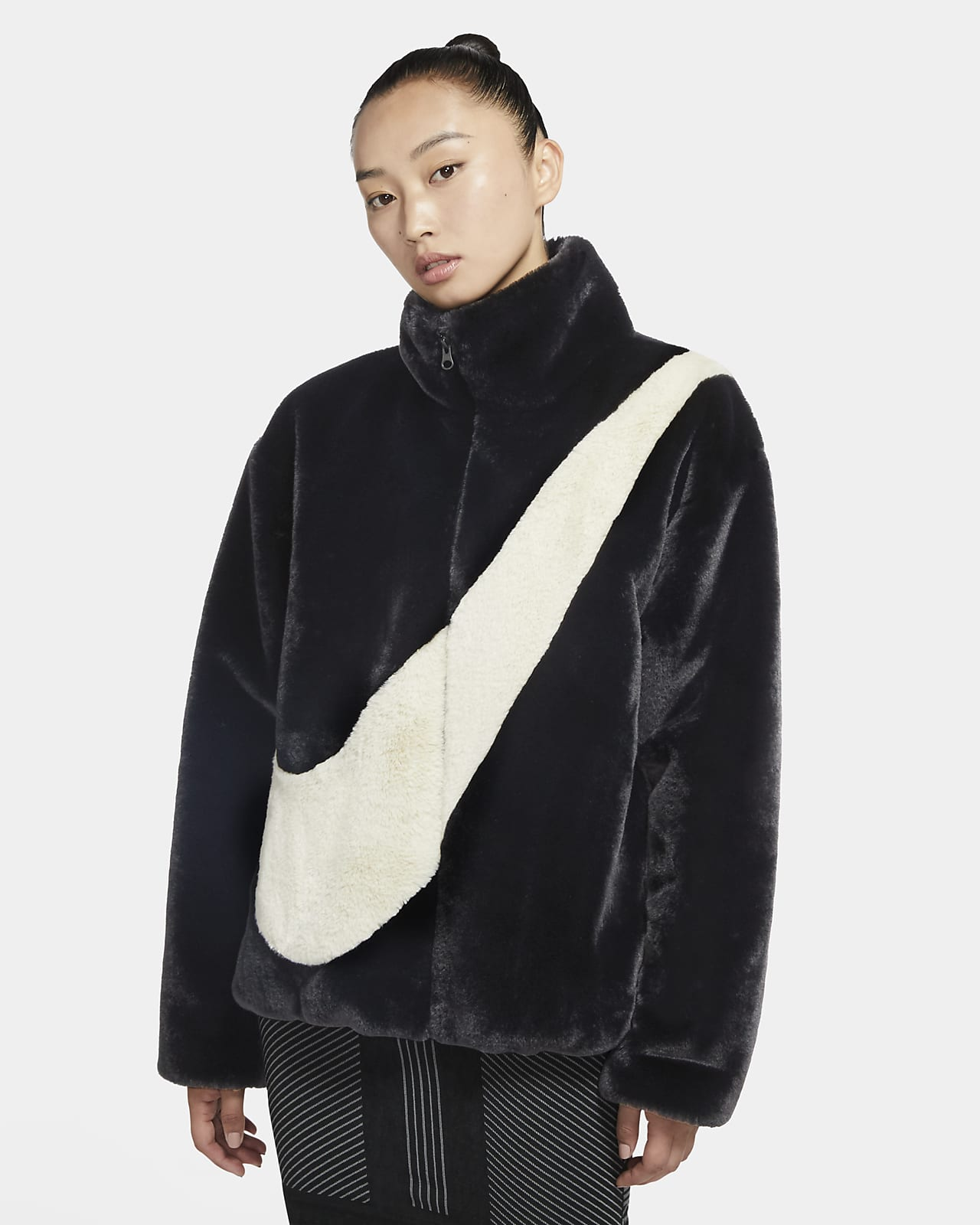Nike Sportswear Chaqueta de pelo sintético - Mujer