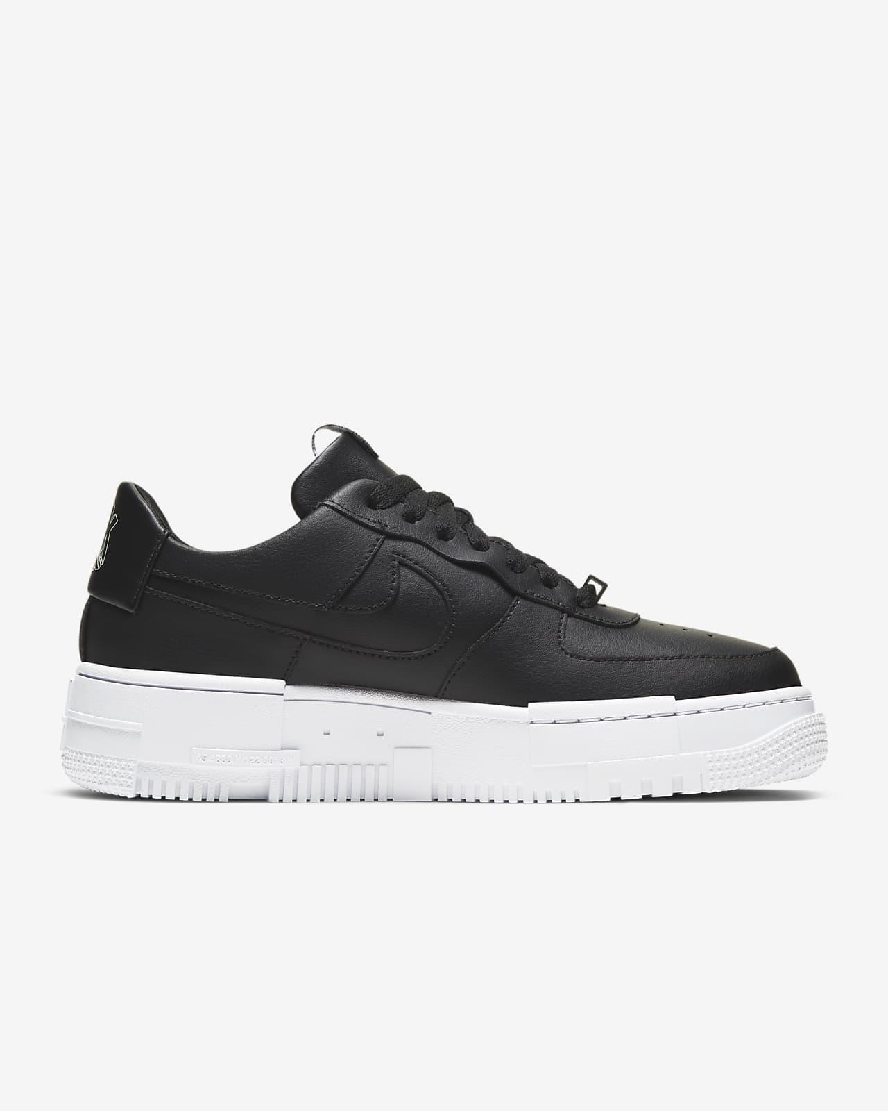 nike air force 1 black white