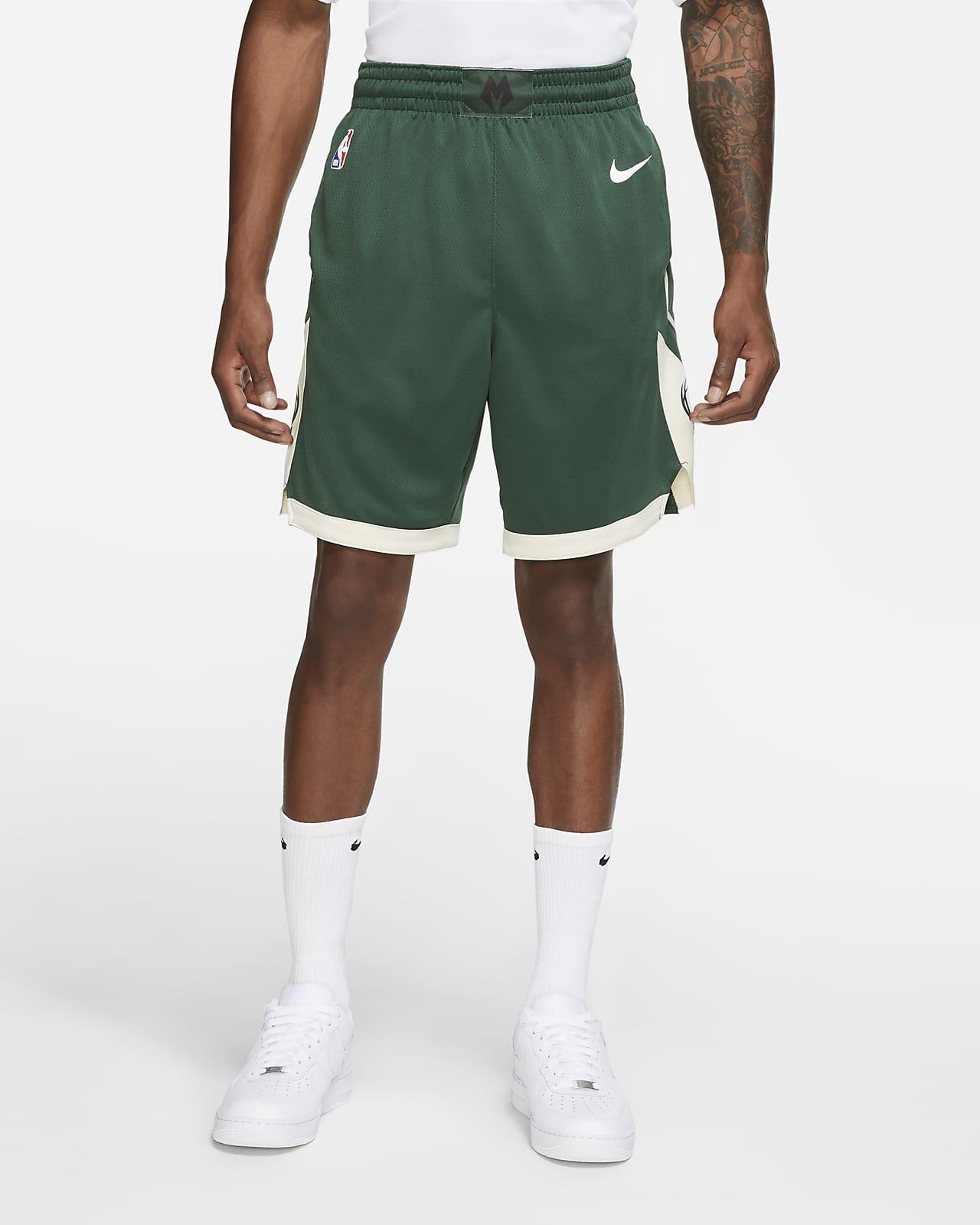 Milwaukee Bucks Icon Edition Men's Nike NBA Swingman Shorts