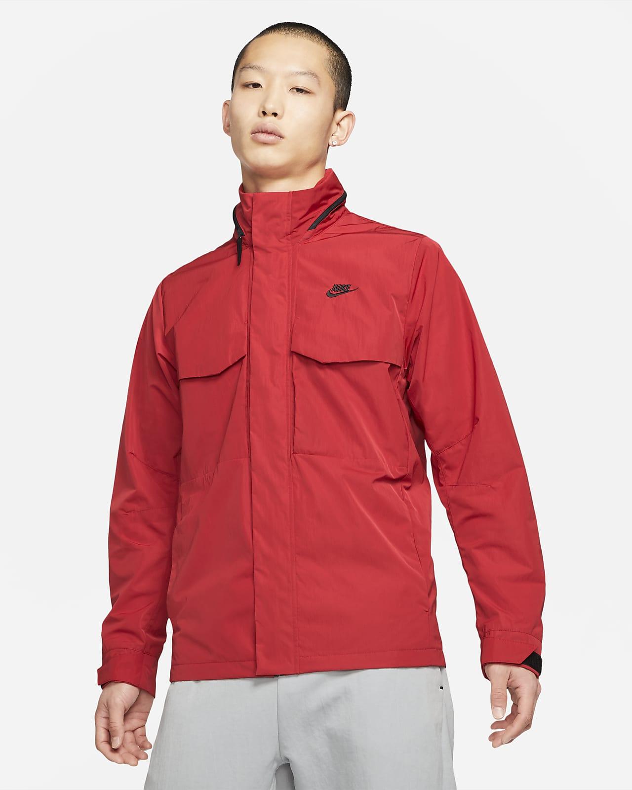 เสื้อแจ็คเก็ตมีฮู้ดผู้ชาย M65 Nike Sportswear