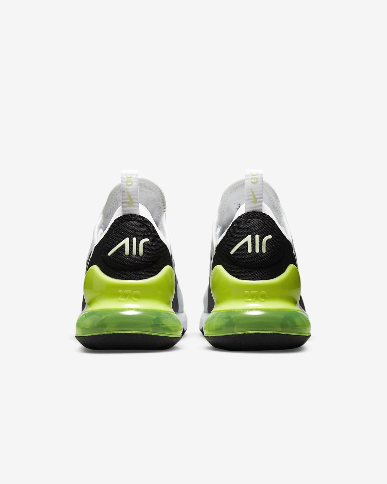 air max 270 negro con verde