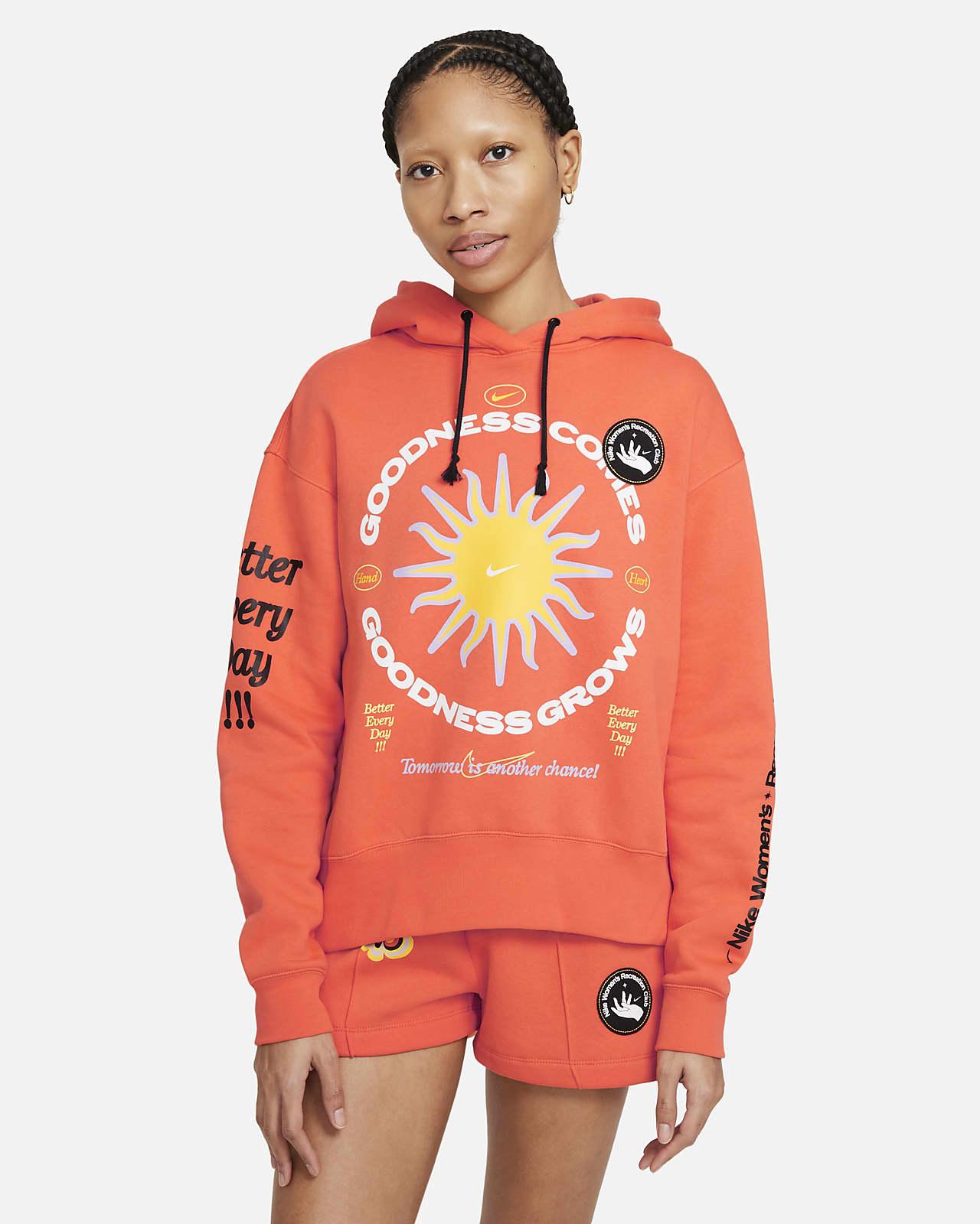 Sudadera con capucha de tejido Fleece para mujer Nike Sportswear