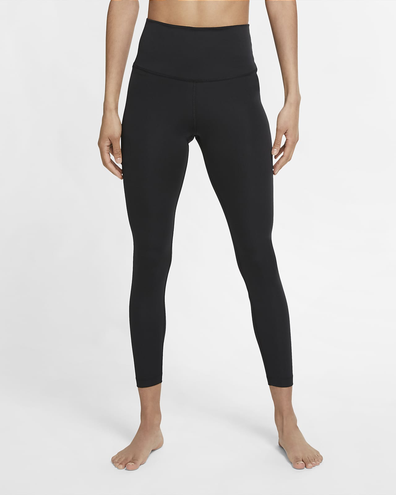 Женские слегка укороченные леггинсы Nike Yoga