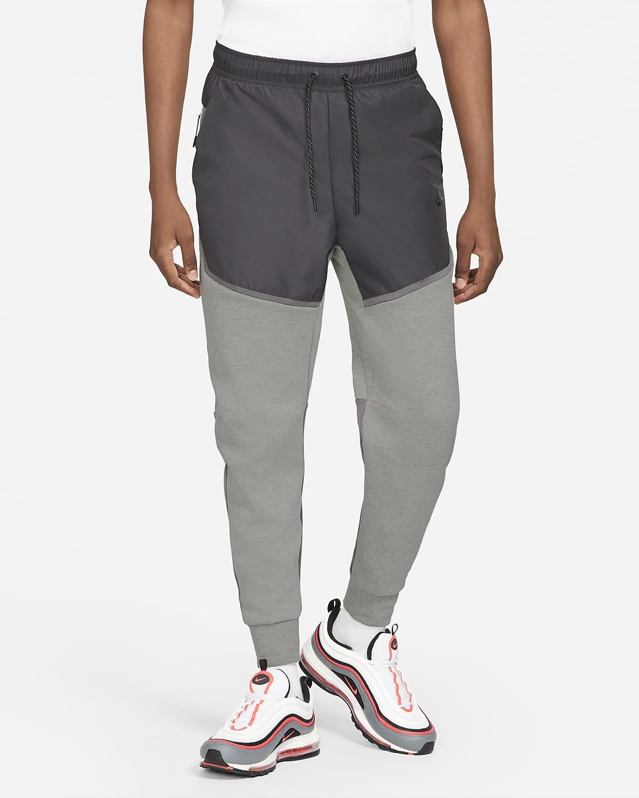 Tkane męskie joggery Nike Sportswear Tech Fleece