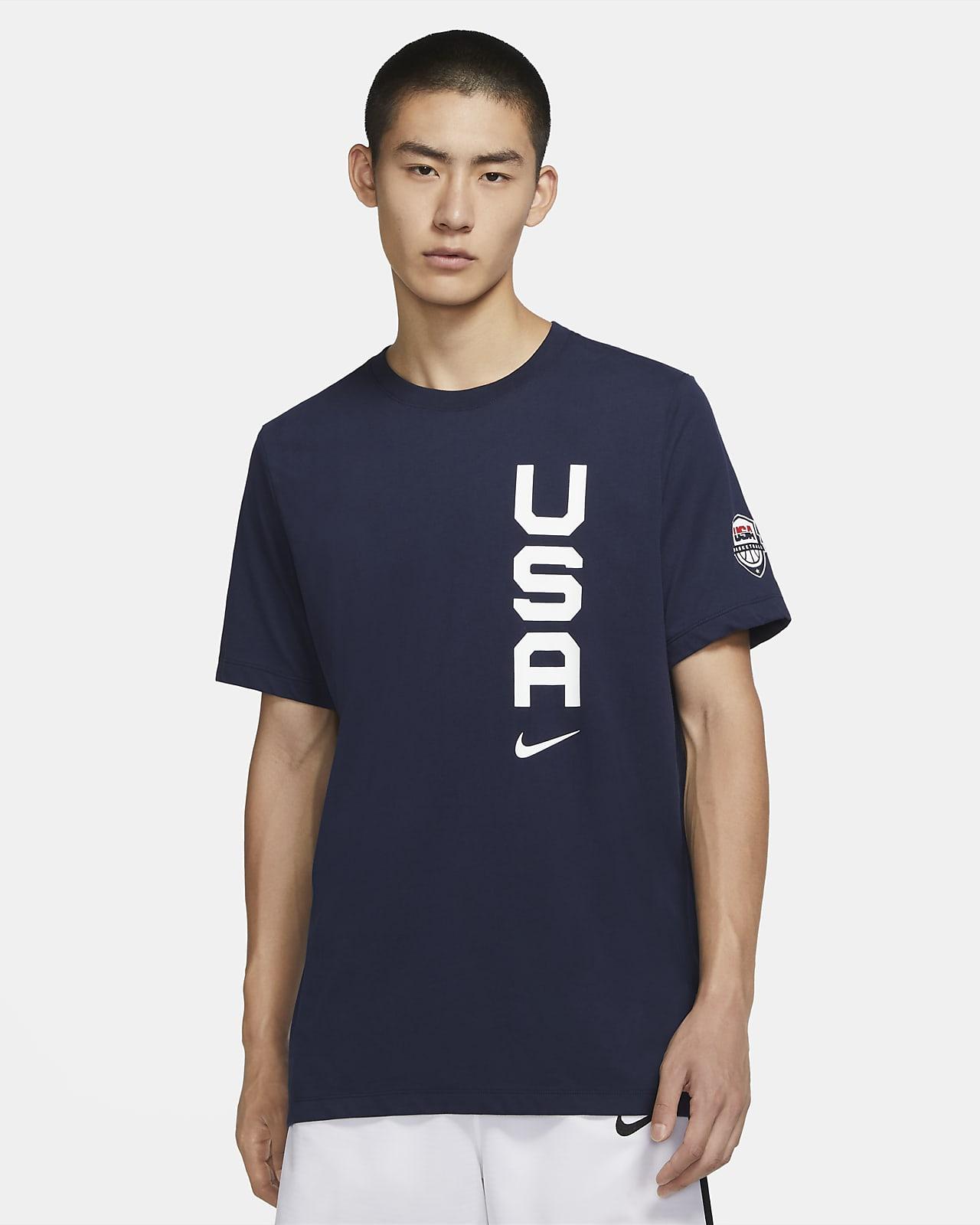 USAB Team Men's Nike Dri-FIT Basketball T-Shirt