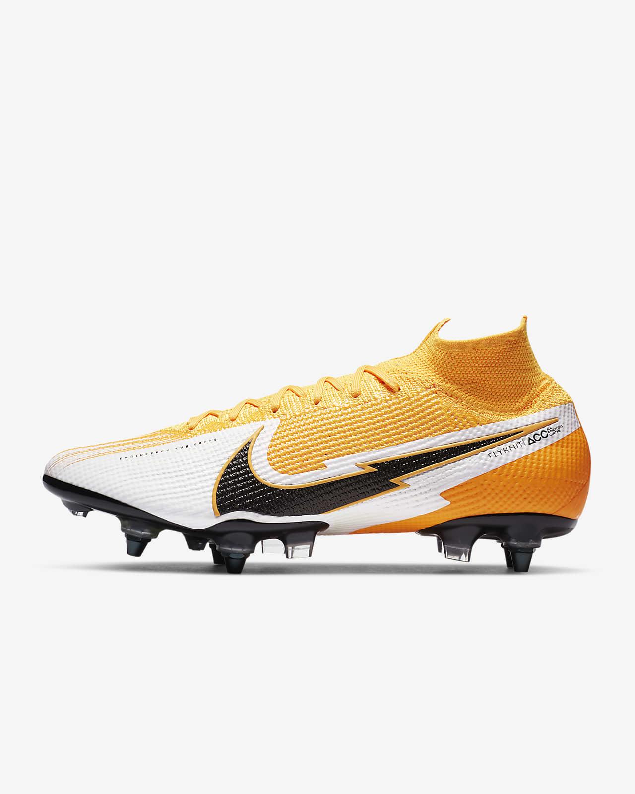 Nike Mercurial Superfly 7 Elite SG-PRO Anti-Clog Traction-fodboldstøvle (vådt græs)