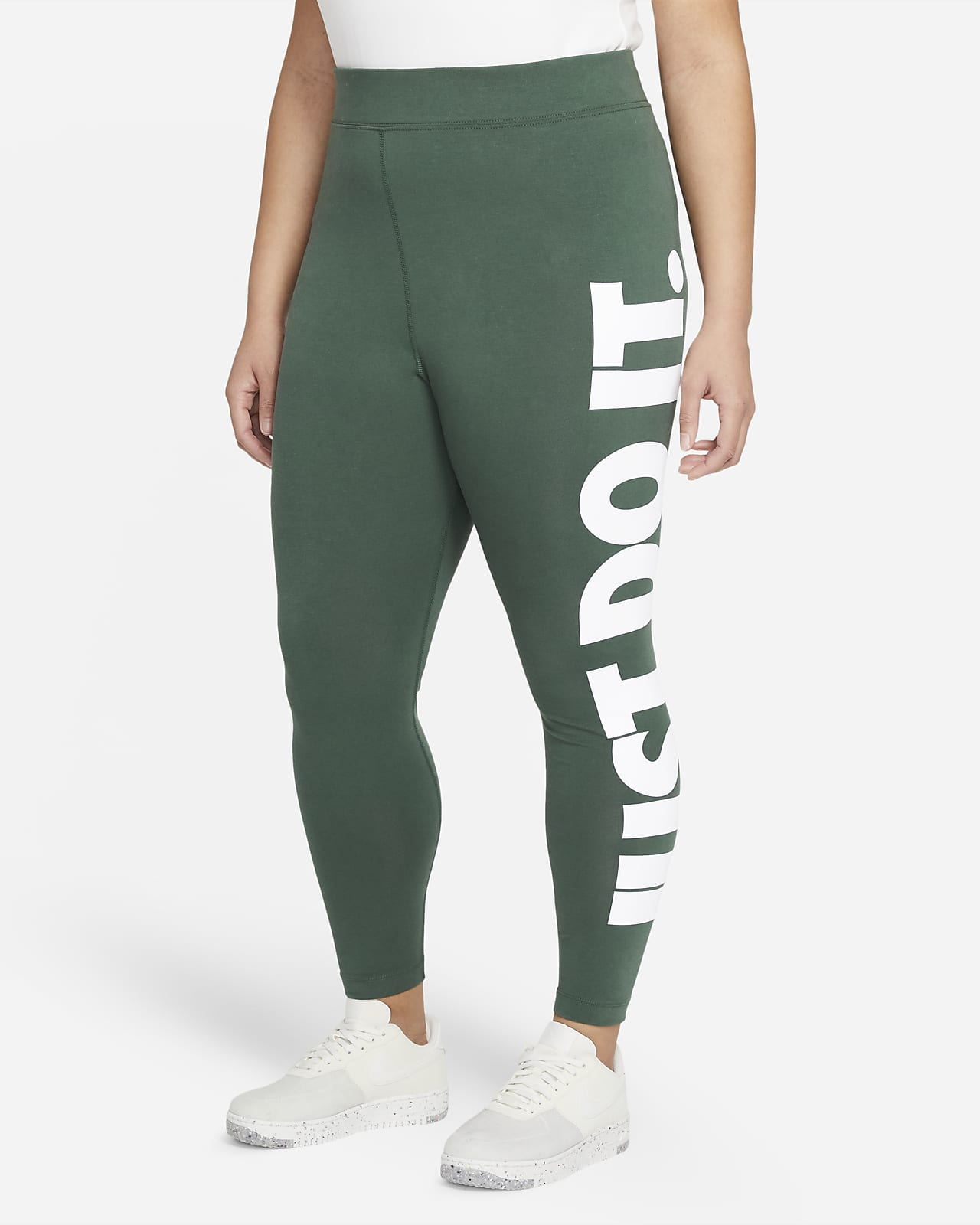 Nike Sportswear Essential Women's High-Rise Leggings (Plus Size)