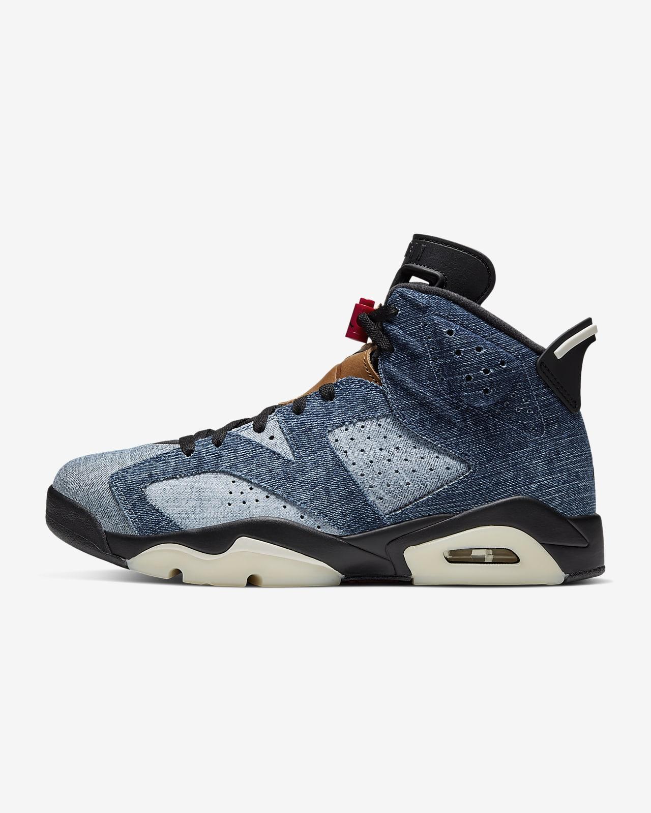 Air Jordan 6 Retro Shoe. Nike LU