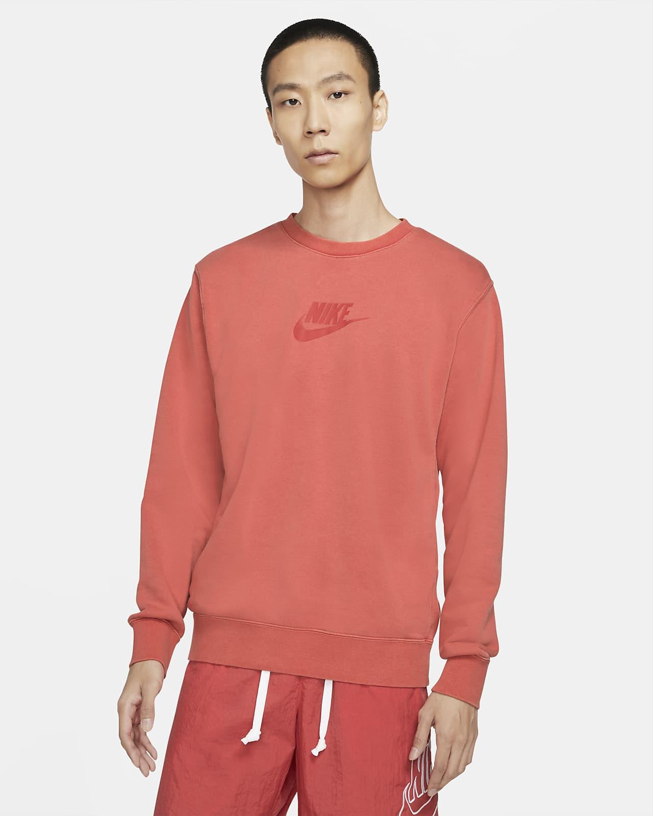 Nike Sportswear Essentials+ 男款法國毛圈布圓領運動衫