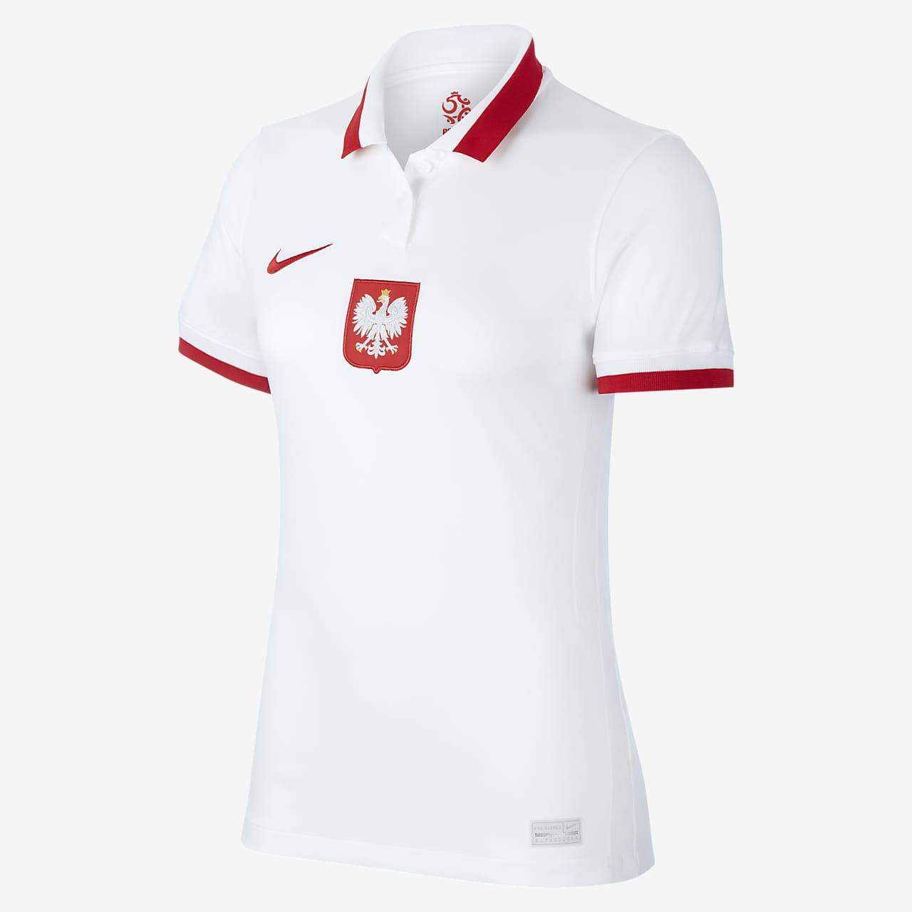 Maillot de football Pologne 2020 Stadium Domicile pour Femme