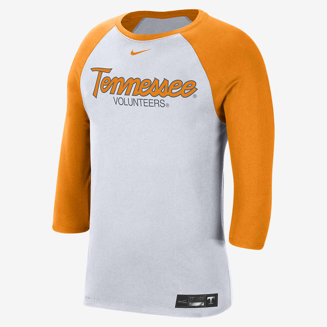 Nike College Dri-FIT (Tennessee) Men's 3/4-Sleeve T-Shirt
