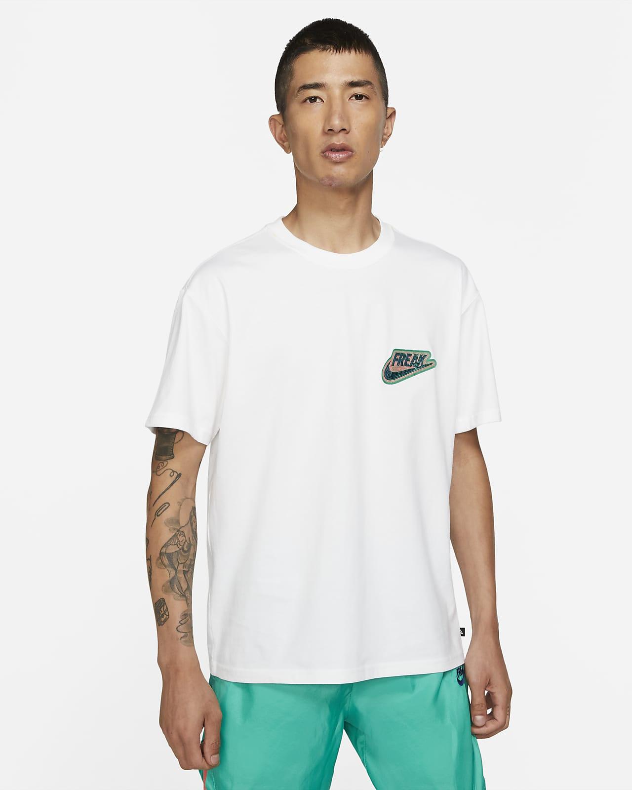 """ヤニス """"Freak"""" メンズ プレミアム バスケットボール Tシャツ"""