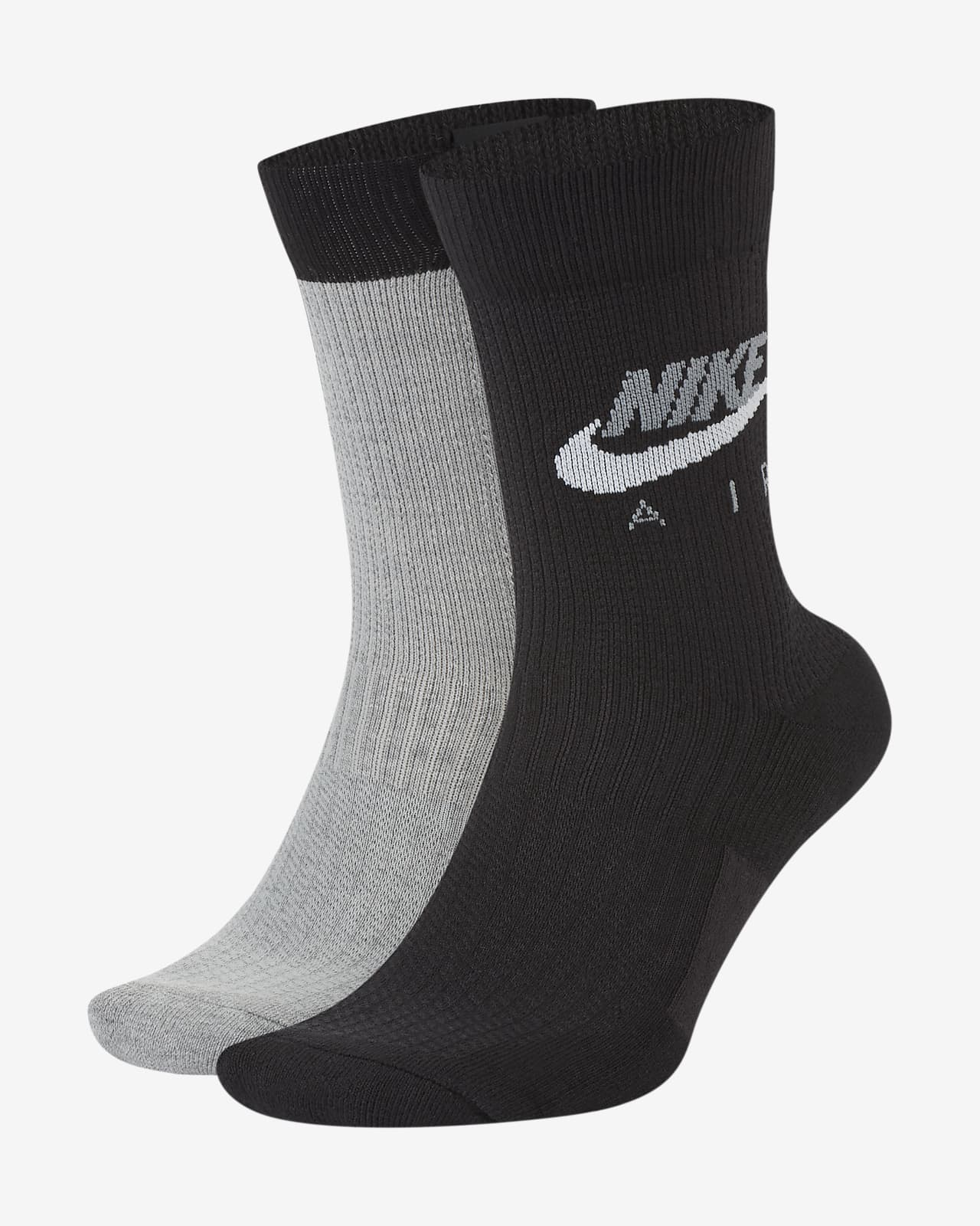 Nike Air SNKR SOX Crew Socks (2 Pairs