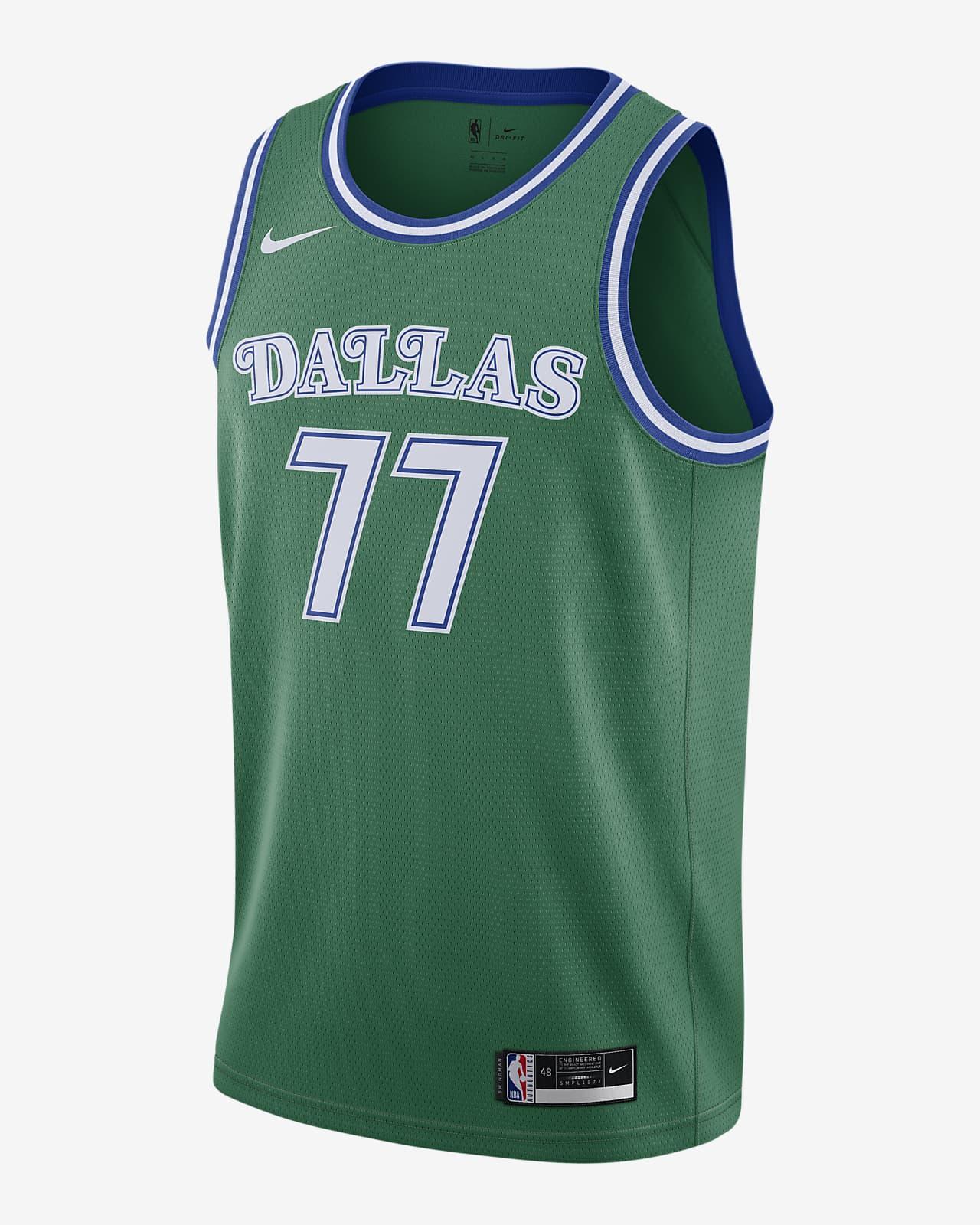 Maillot Nike NBA Swingman Dallas Mavericks Classic Edition 2020
