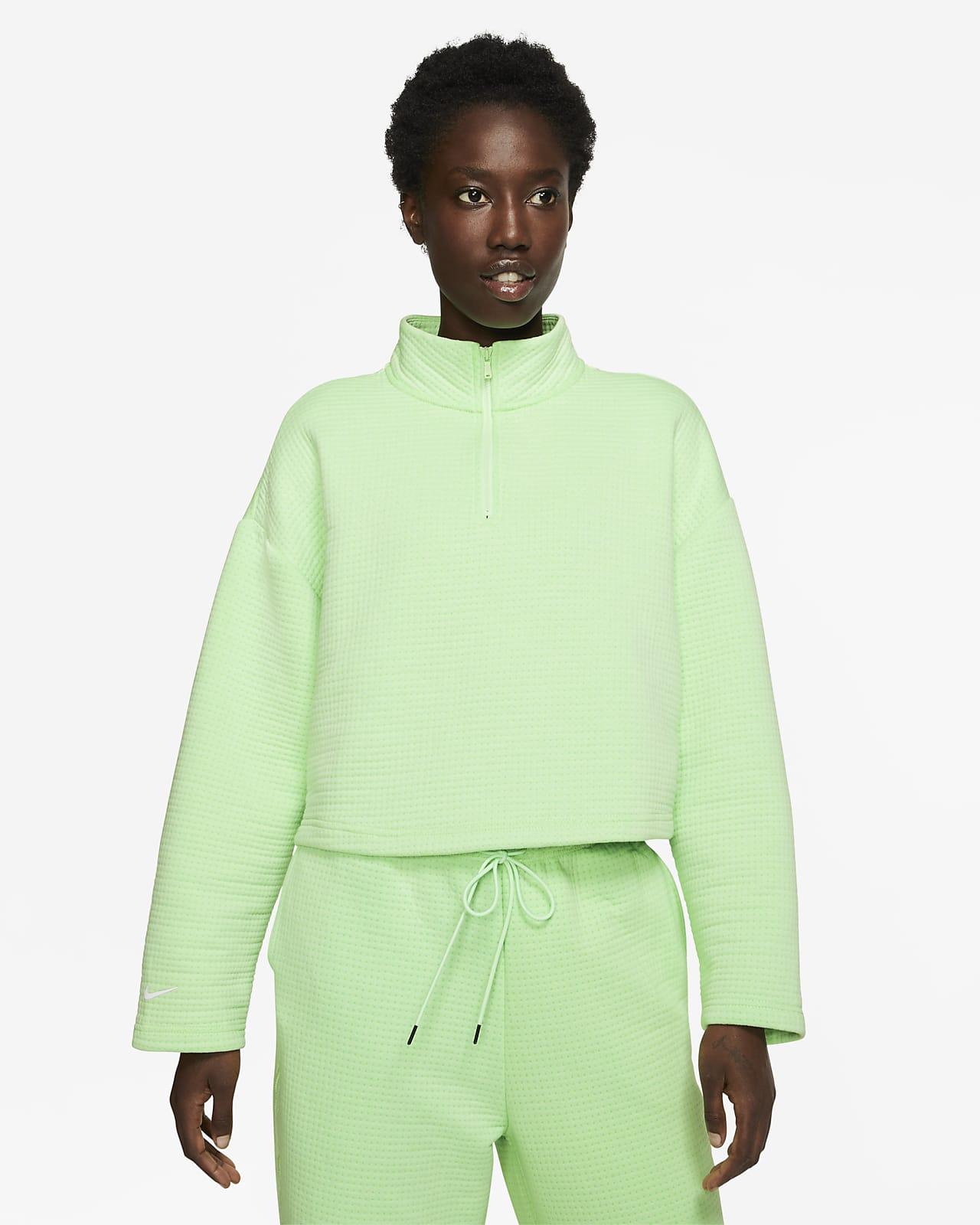 Nike Sportswear Tech Fleece Women S 1 4 Zip Top Nike Com