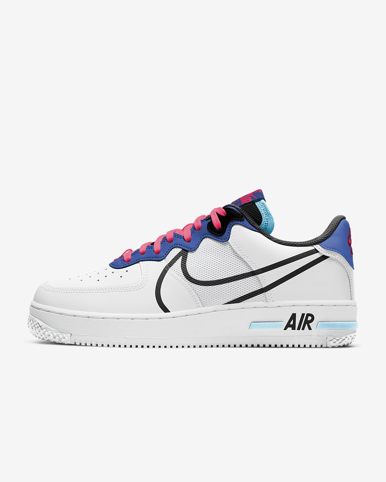 nike air force one react homme blanche
