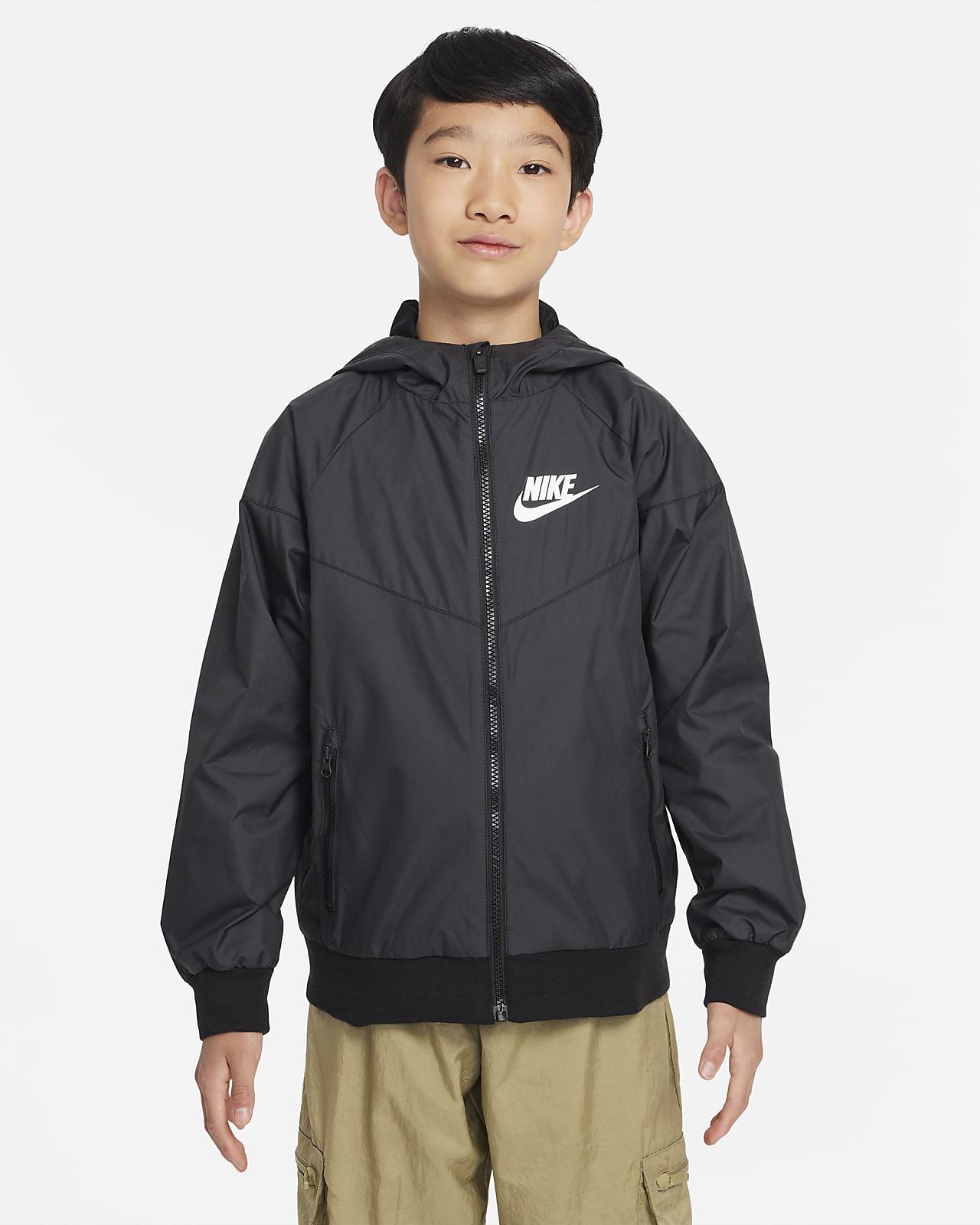 Black Windrunner Jakker og vester. Nike NO